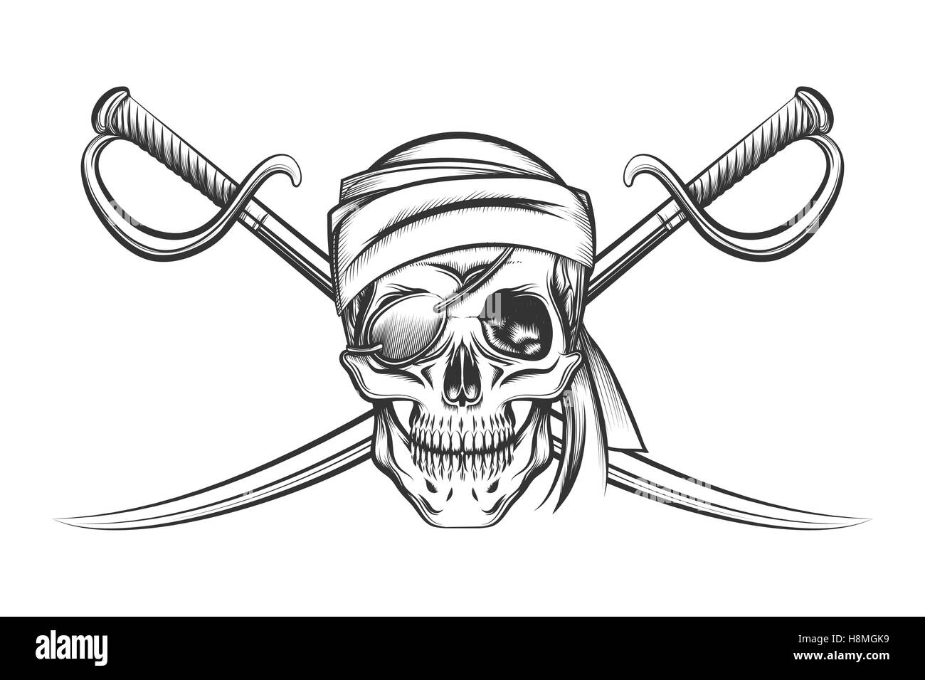 pirate symbol of a skull in the captain u0027s hat and two crossed