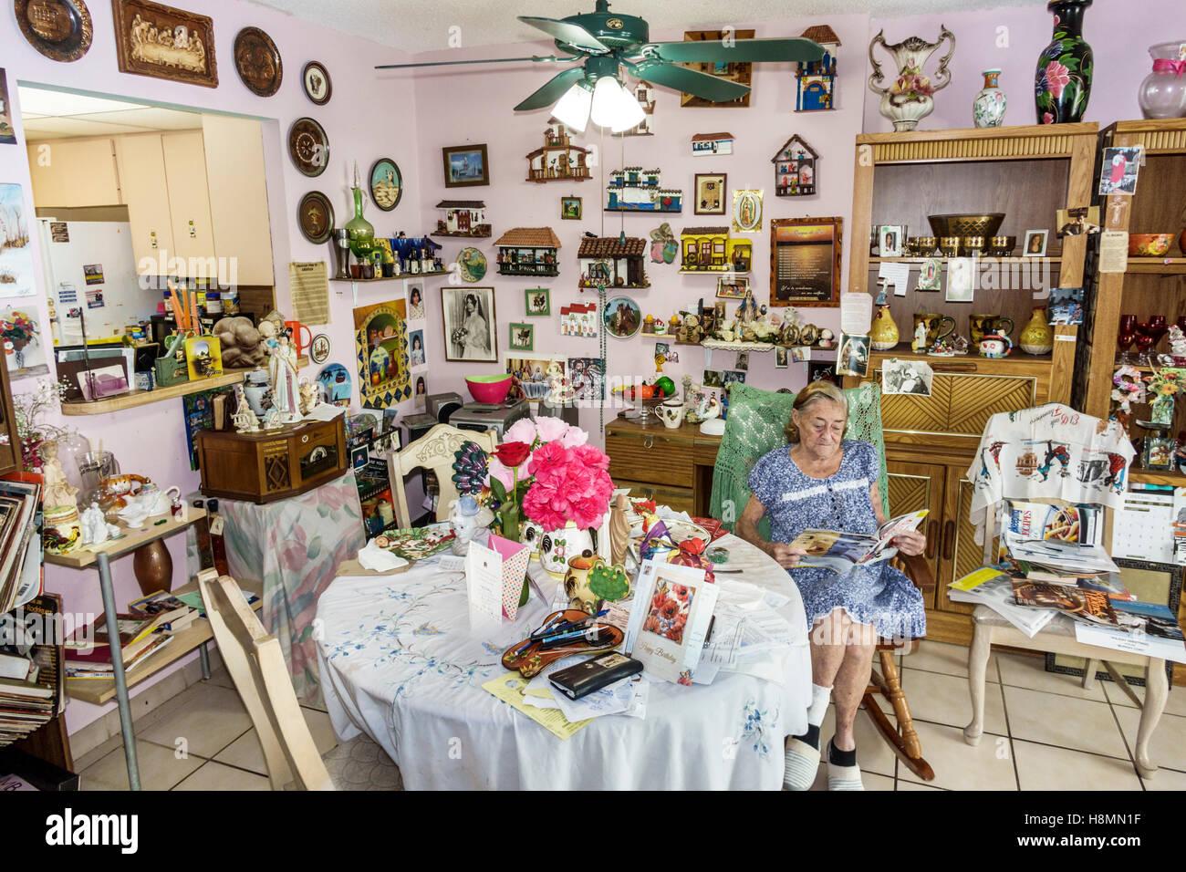 florida miami beach senior hispanic woman home interior decor florida miami beach senior hispanic woman home interior decor decorated