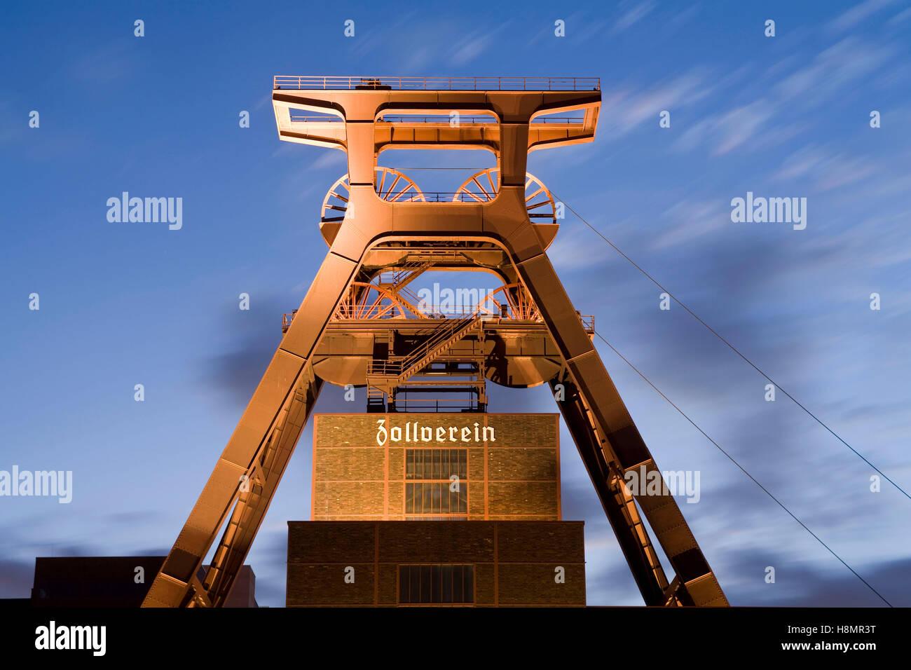 germany ruhr area essen industry monument zeche zollverein shaft stock photo royalty free. Black Bedroom Furniture Sets. Home Design Ideas