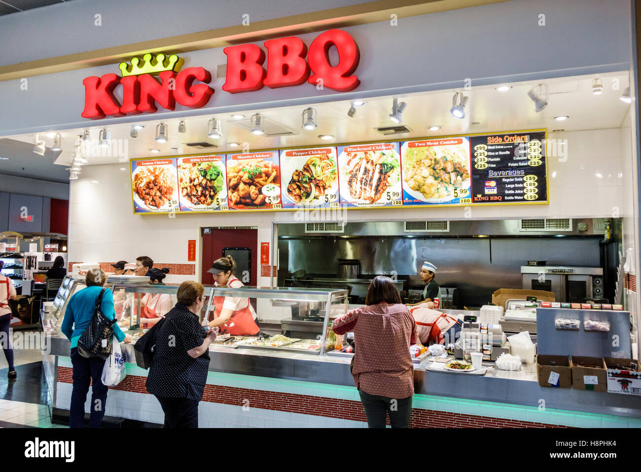 Florida Mall Food Court Restaurants Menu