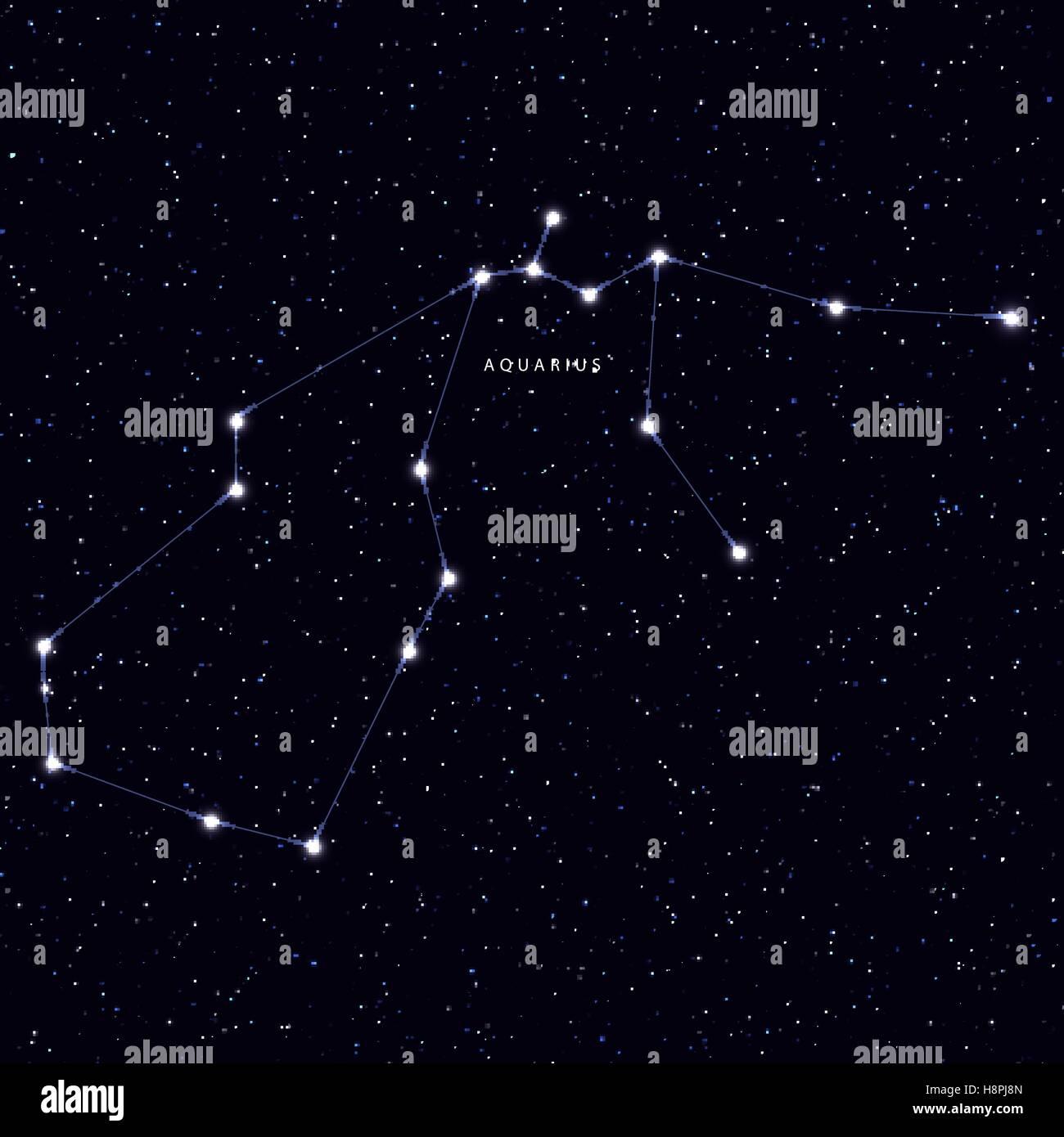 Aquarius Astronomy Symbol