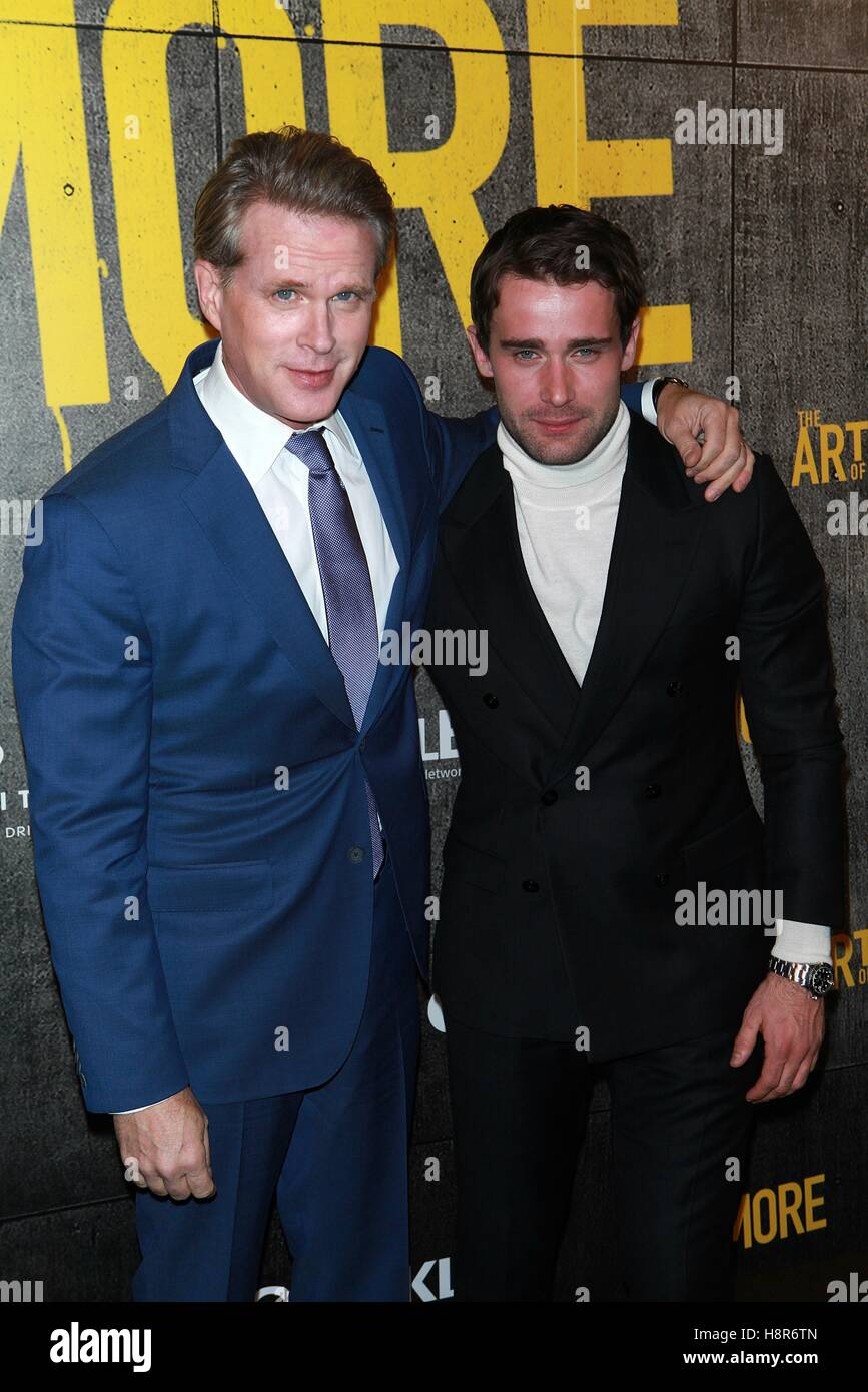 New York USA Th Nov  Cary Elwes And Christian Cooke At - Christian museums in the usa