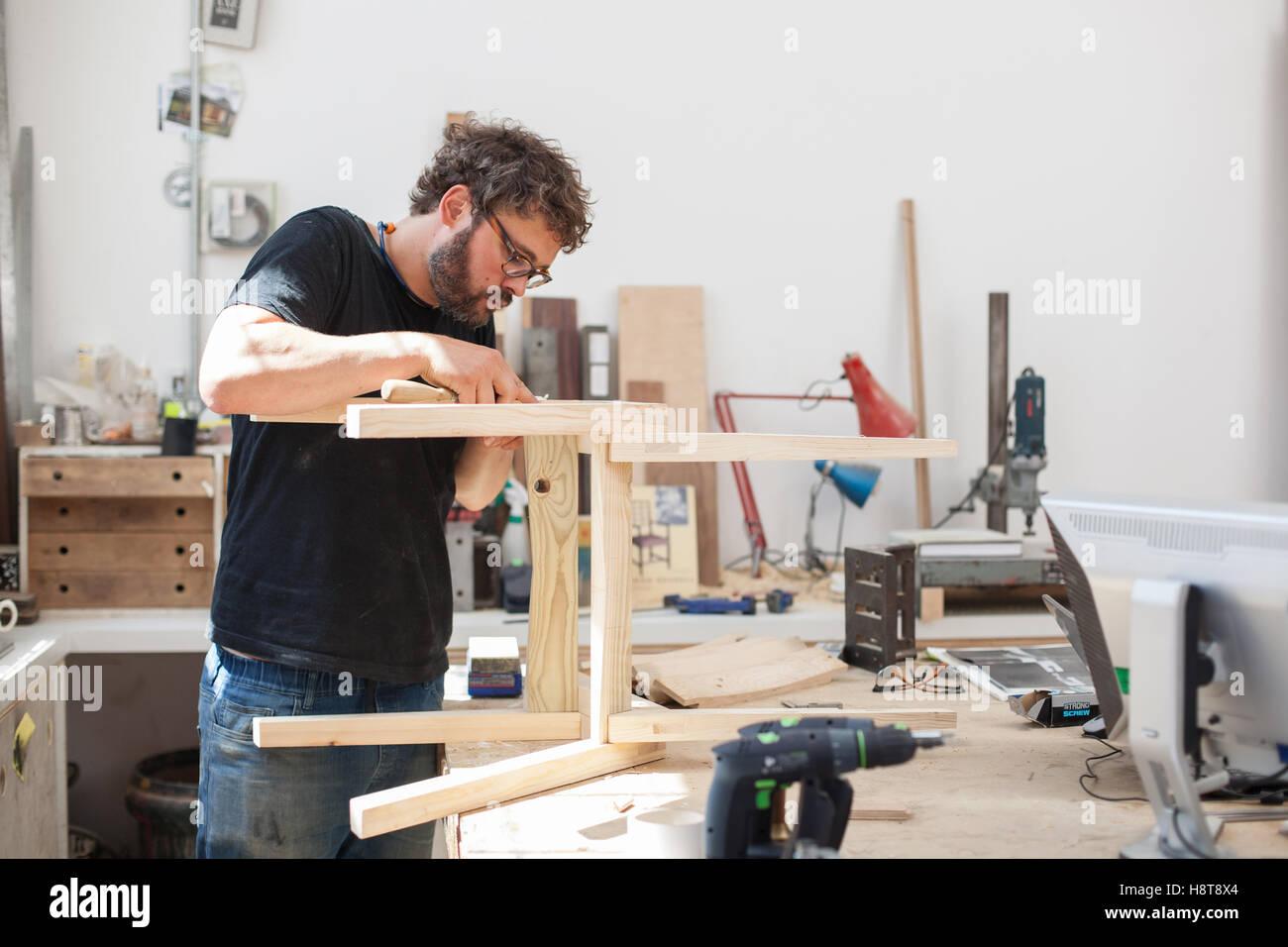 Bespoke Furniture Maker Stock Photos & Bespoke Furniture Maker ...