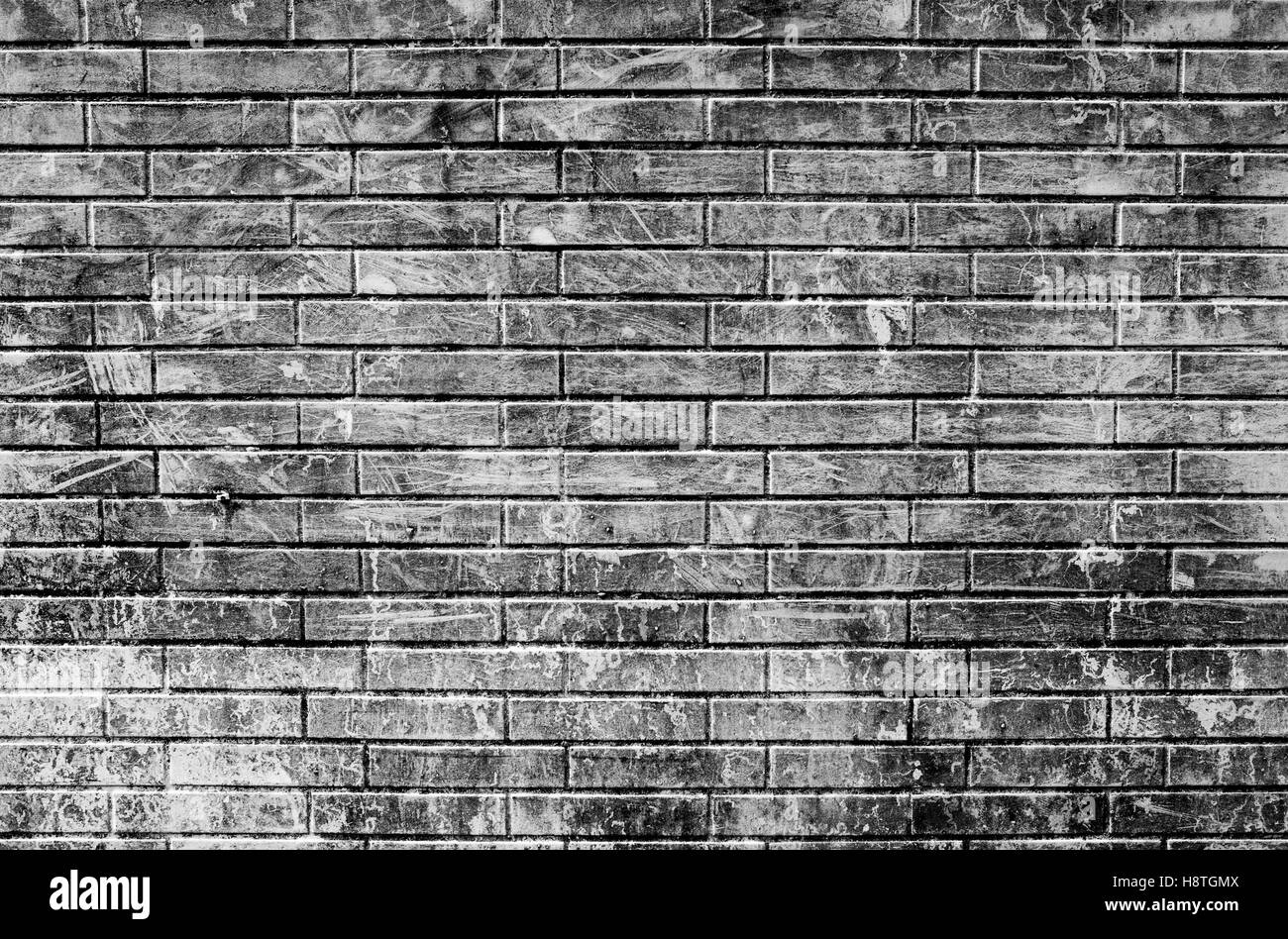 Grey Brick Wall Close Up Look Of Dirty Background For Design