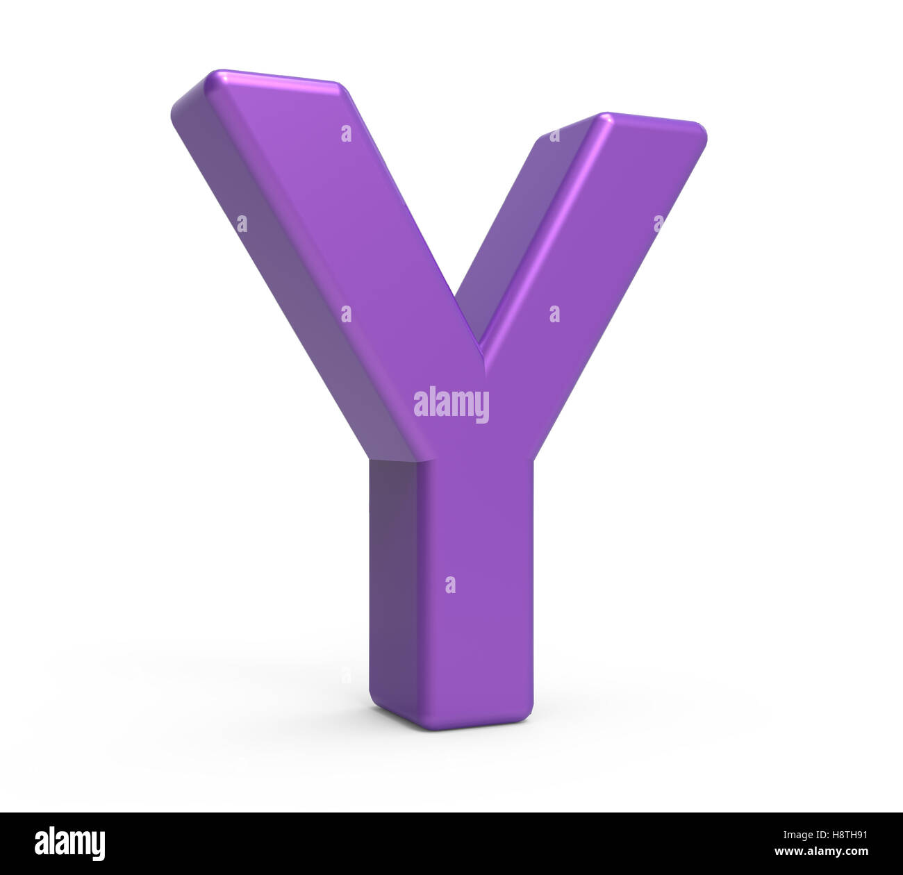 Left leaning 3d rendering purple letter y isolated white left leaning 3d rendering purple letter y isolated white background sciox Images