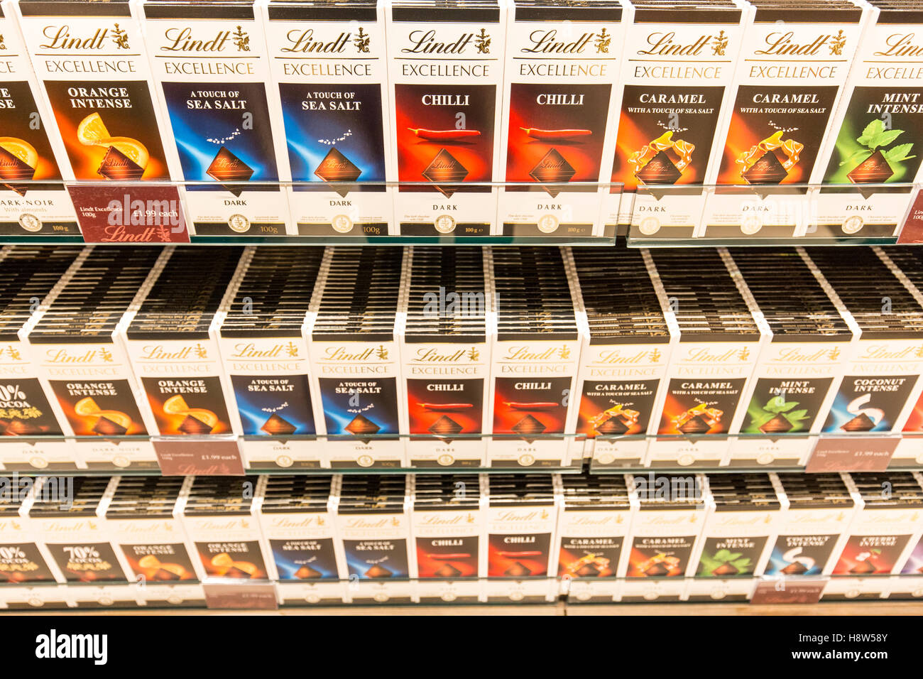 Lindt Chocolate store Stock Photo, Royalty Free Image: 125942795 ...