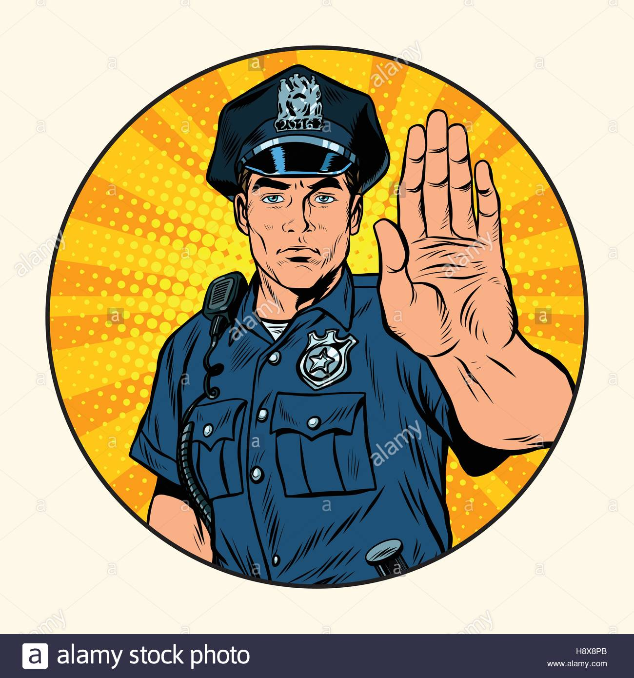 police stock vector images alamy