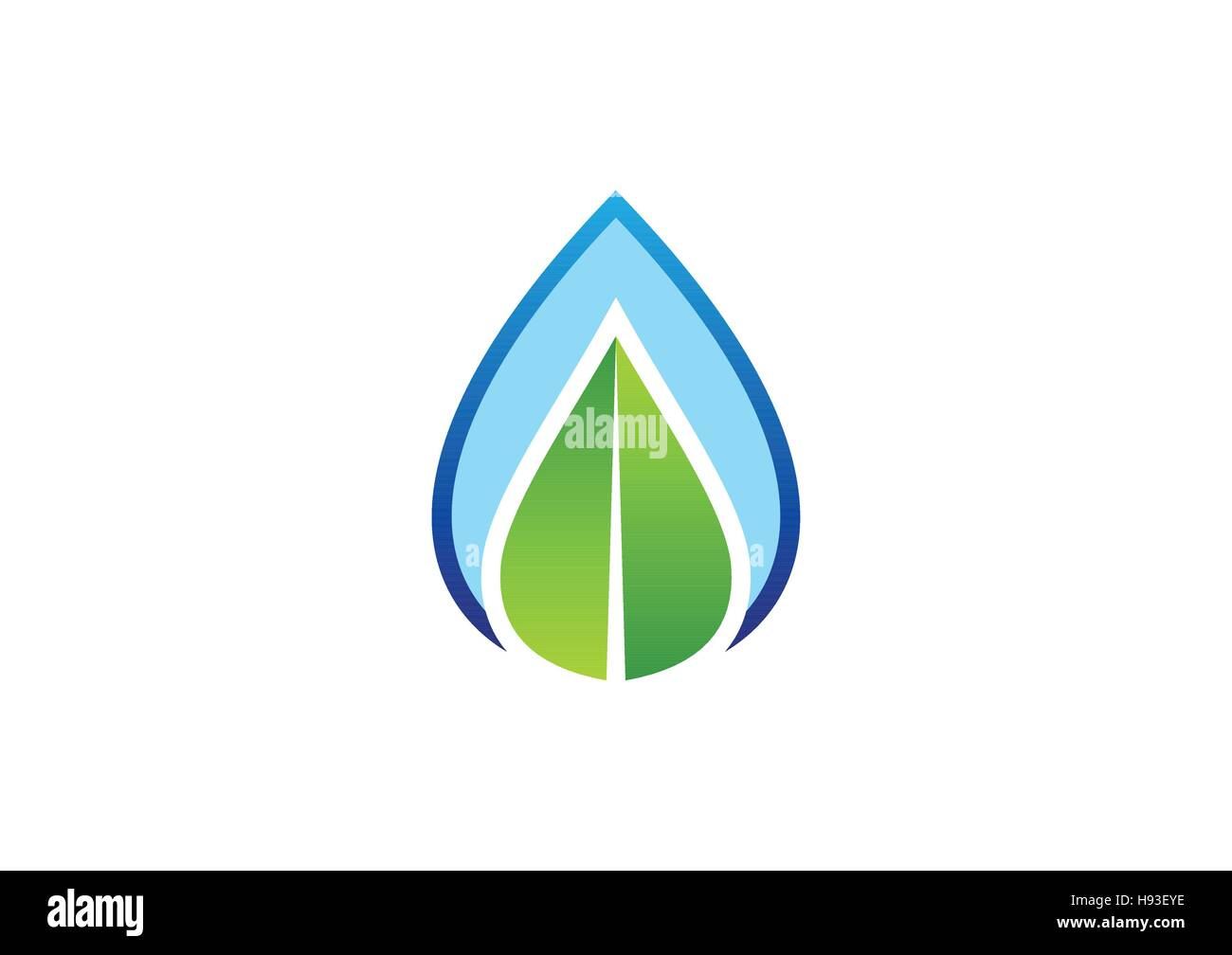 Water drop and leaf logo concept water drop and nature leaf water drop and leaf logo concept water drop and nature leaf symbol icon vector design biocorpaavc Image collections