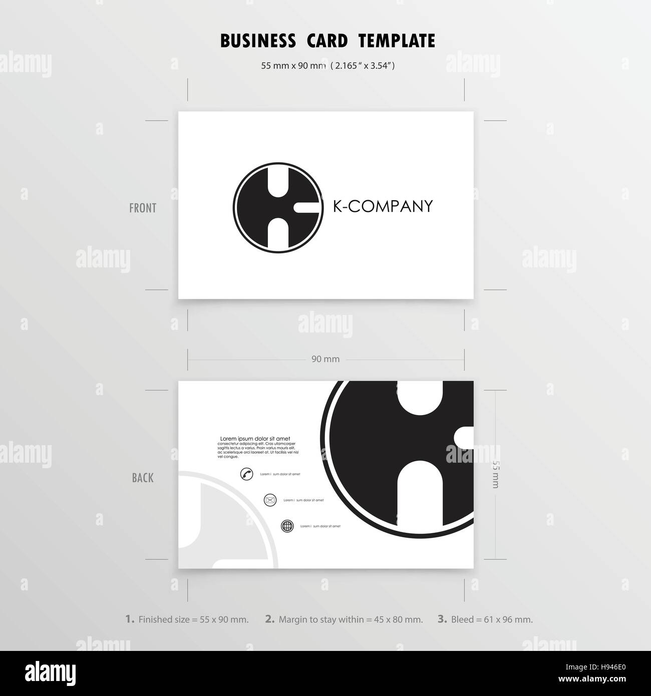 Business cards 85 x 54 template images card design and card template free business card template 85 x 54 images card design and card free business card template reheart Choice Image