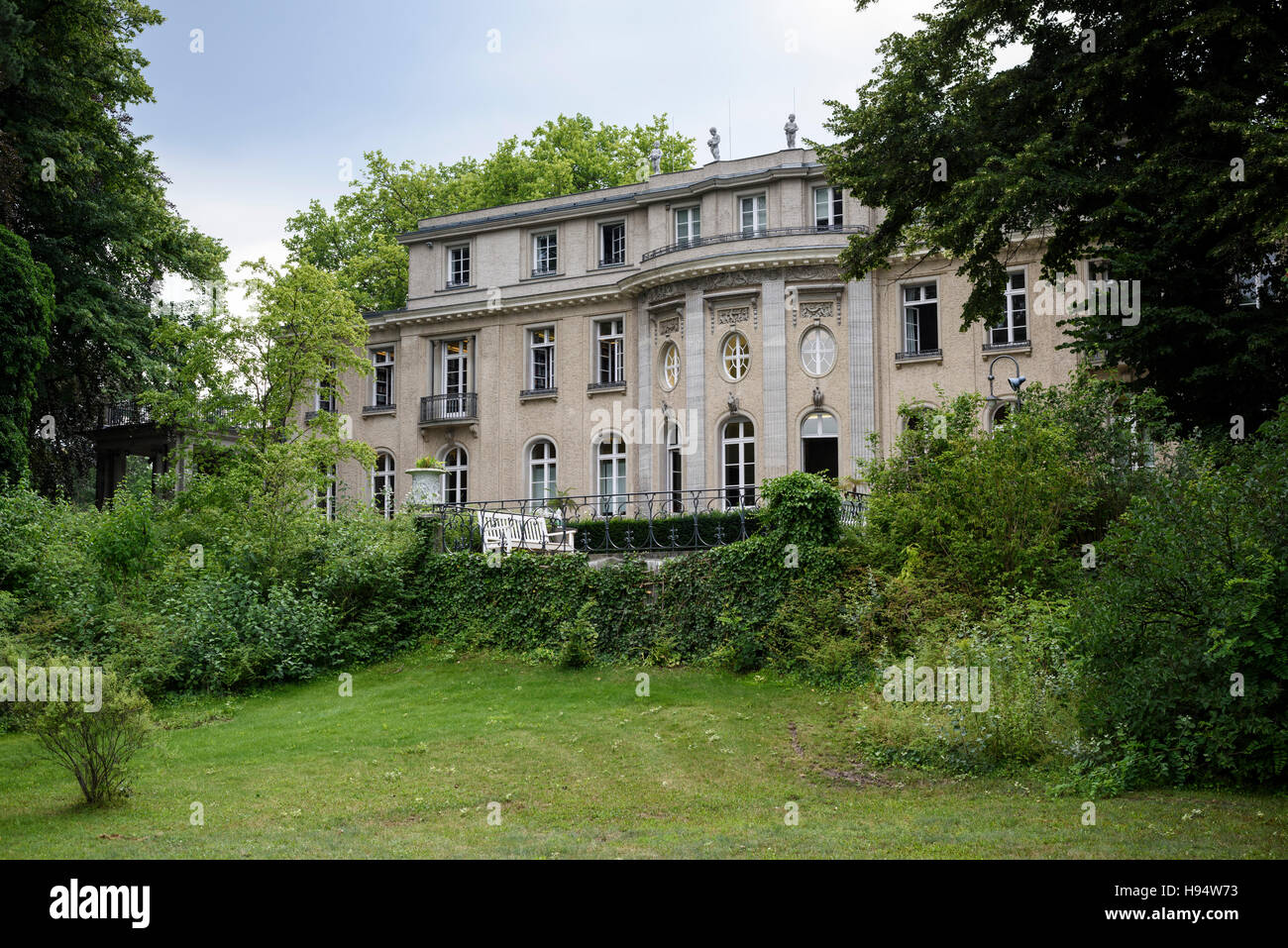 Berlin germany house of the wannsee conference memorial and educational site