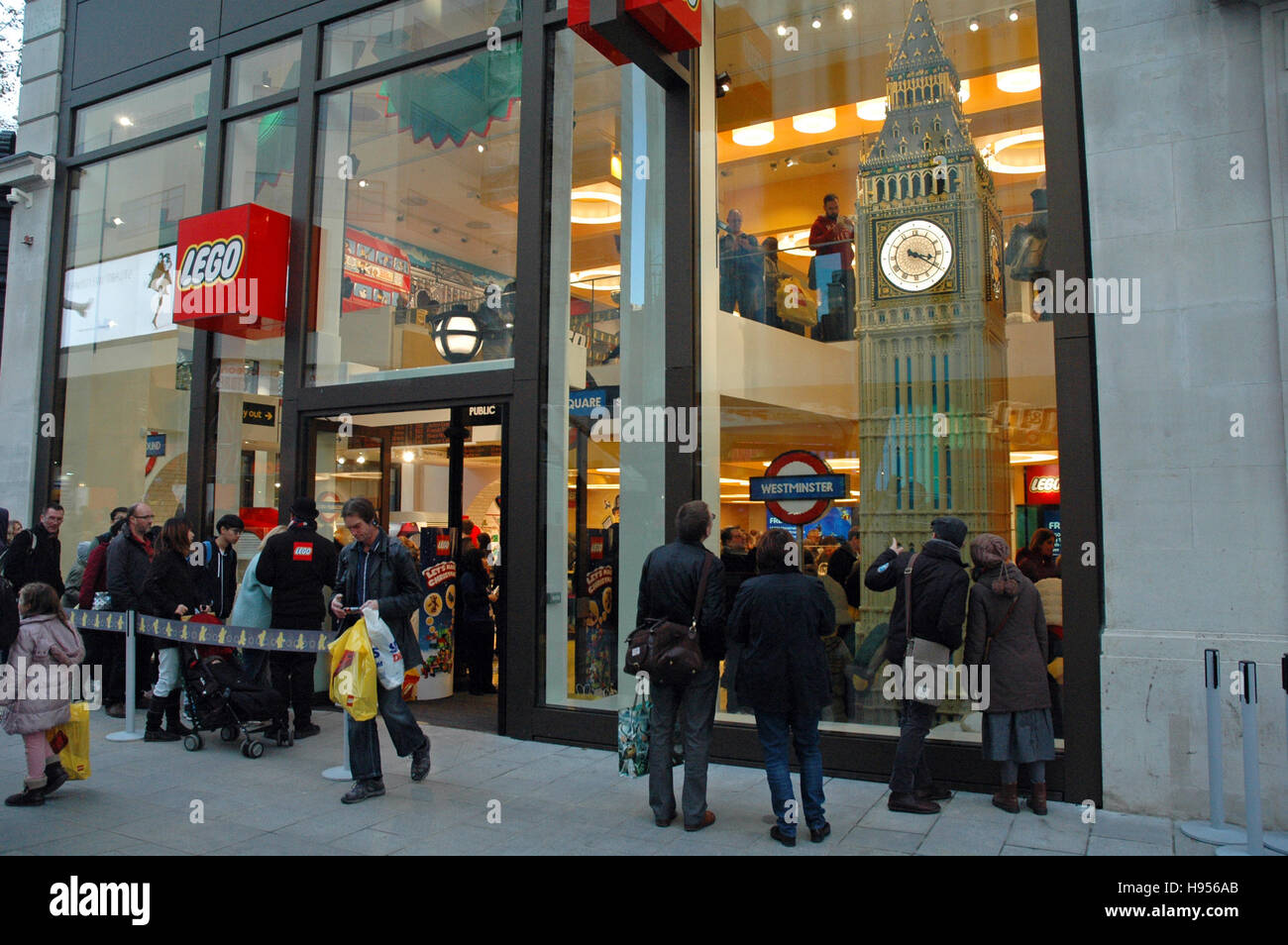 London uk 18th nov 2016 new lego store in leicester square one stock pho - Boutique lego londres ...