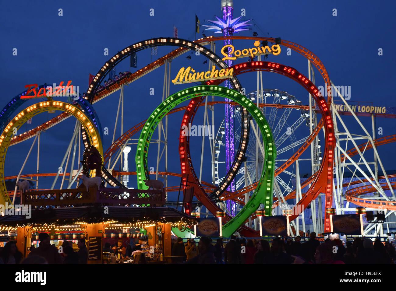 Hyde Park London UK Th Nov Winter Wonderland Christmas - Winter wonderland london map 2016