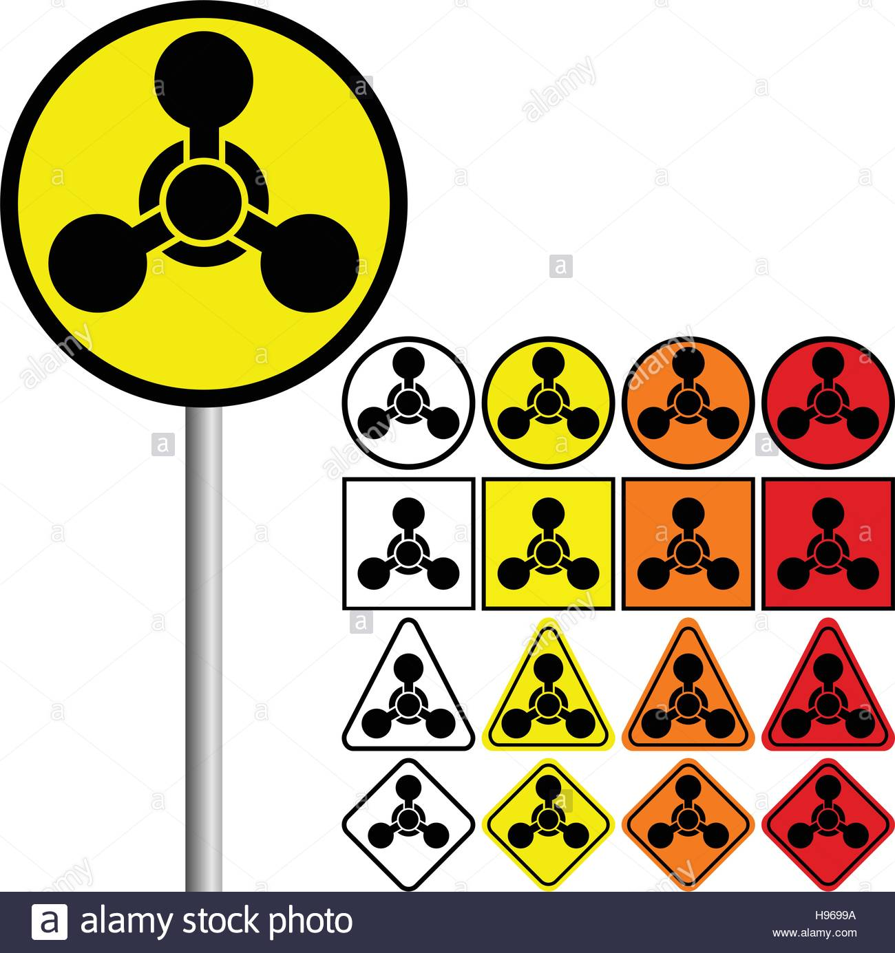 Chemical Weapons Symbols Chemical Weapons Symbol