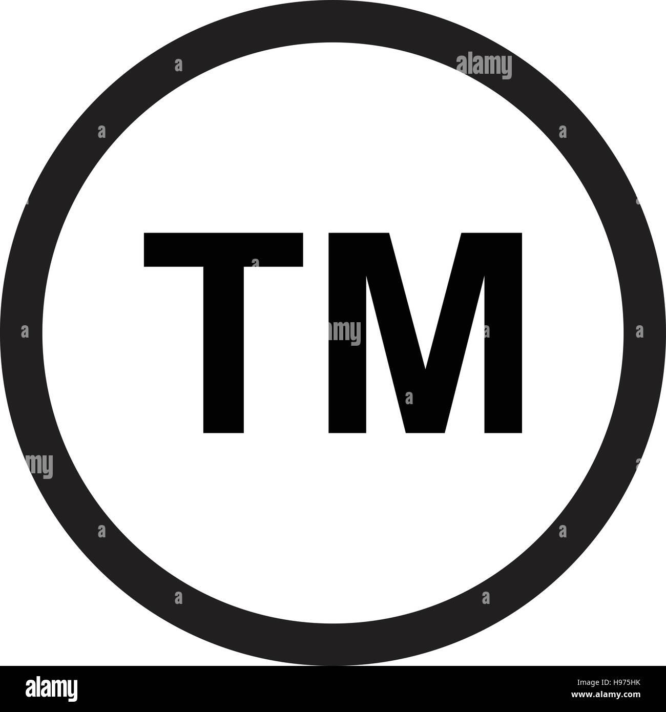 Trademark symbol icon stock vector art illustration vector trademark symbol icon buycottarizona Choice Image