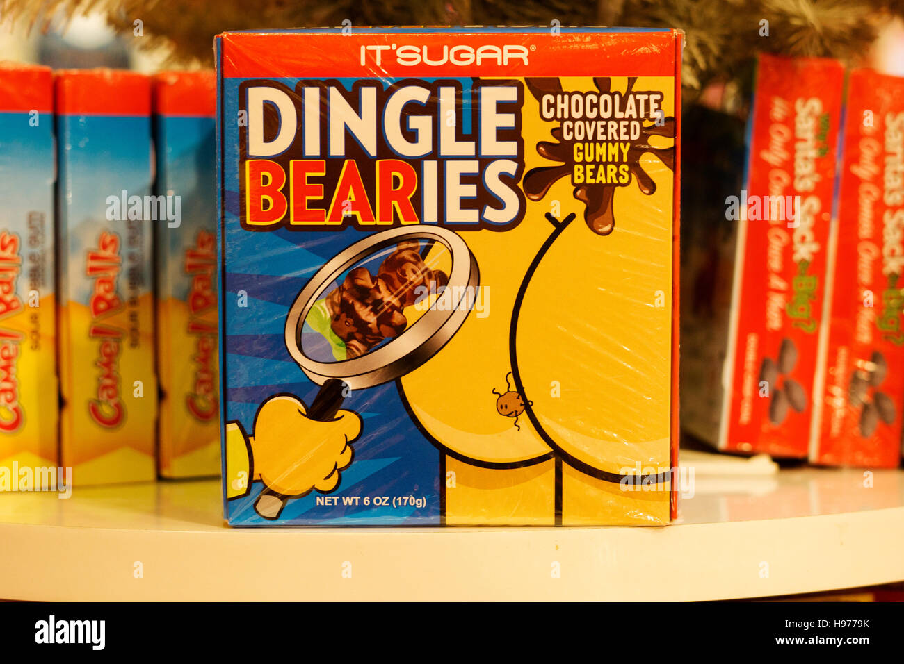 Dingle Bearies, a gag gift of chocolate covered gummy bears for ...