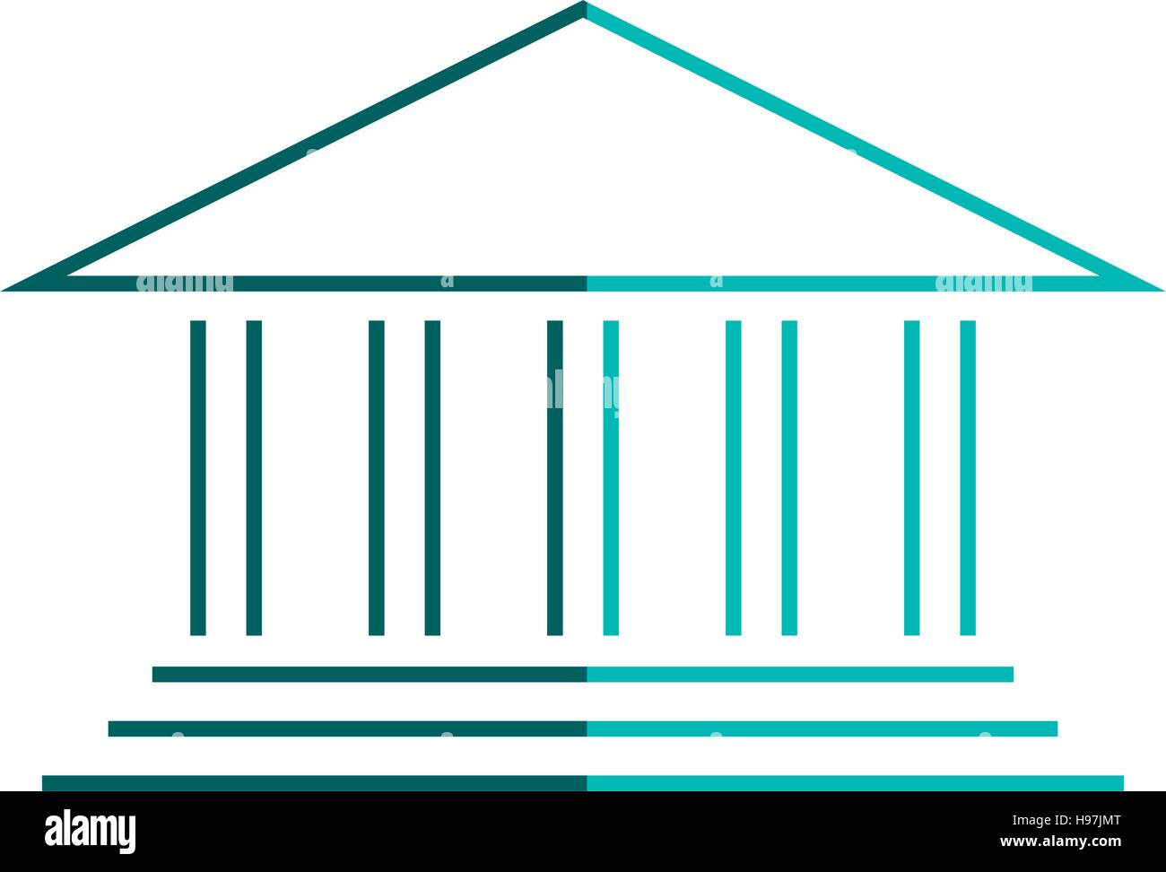 University building symbol stock vector art illustration vector university building symbol biocorpaavc Image collections