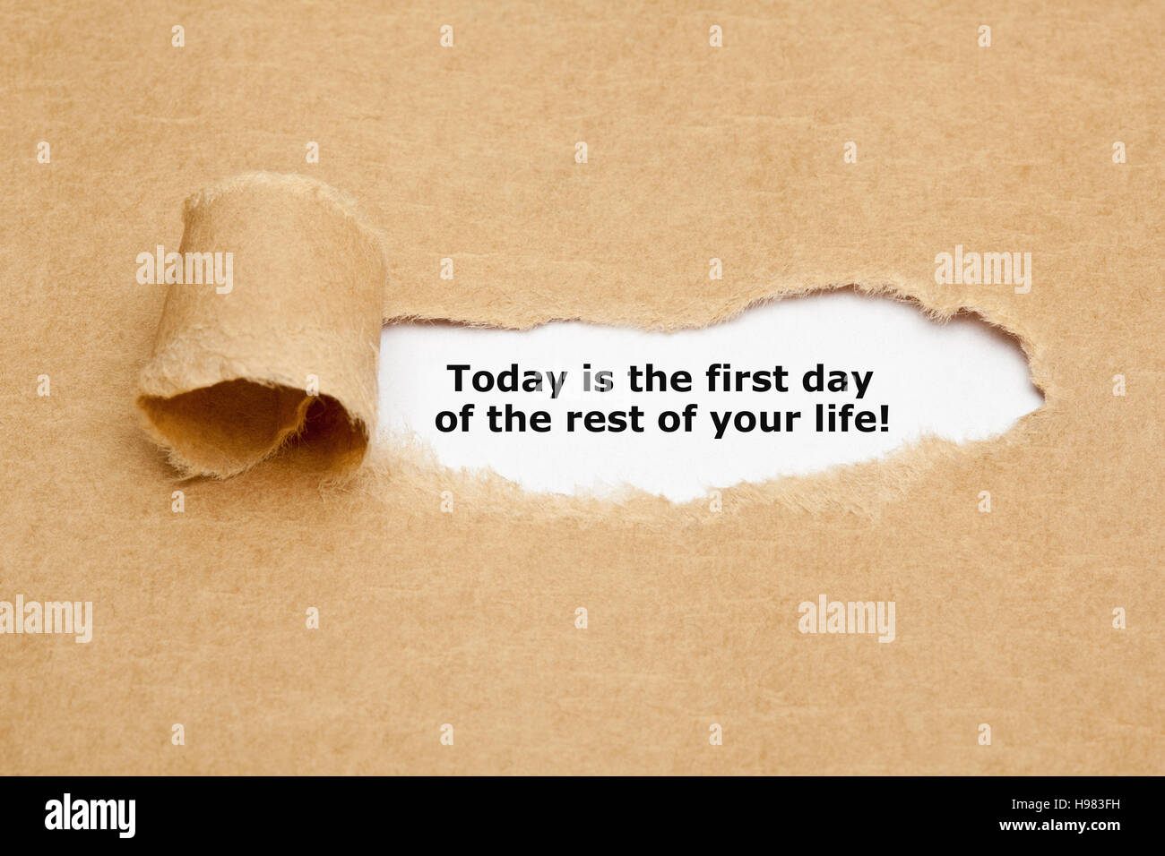 Quote For Today About Life Motivational Quote Today Is The First Day Of The Rest Of Your Life