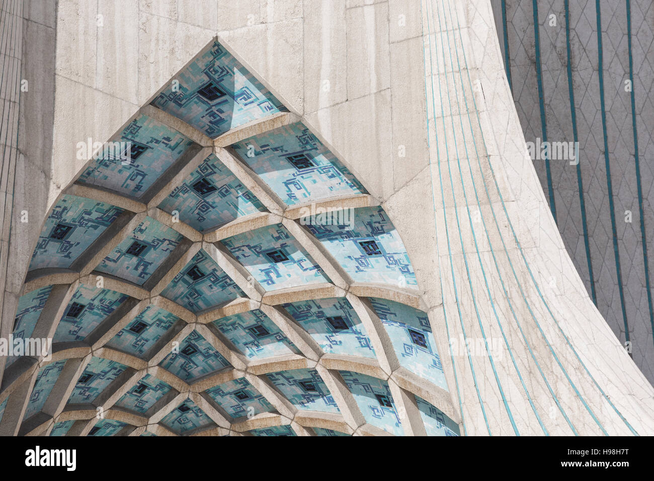 TEHERAN, IRAN - OCTOBER 03, 2016: Azadi Tower located at Azadi ...