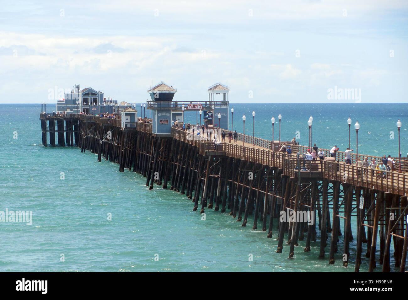 Oceanside pier oceanside san diego county california for Pier fishing san diego