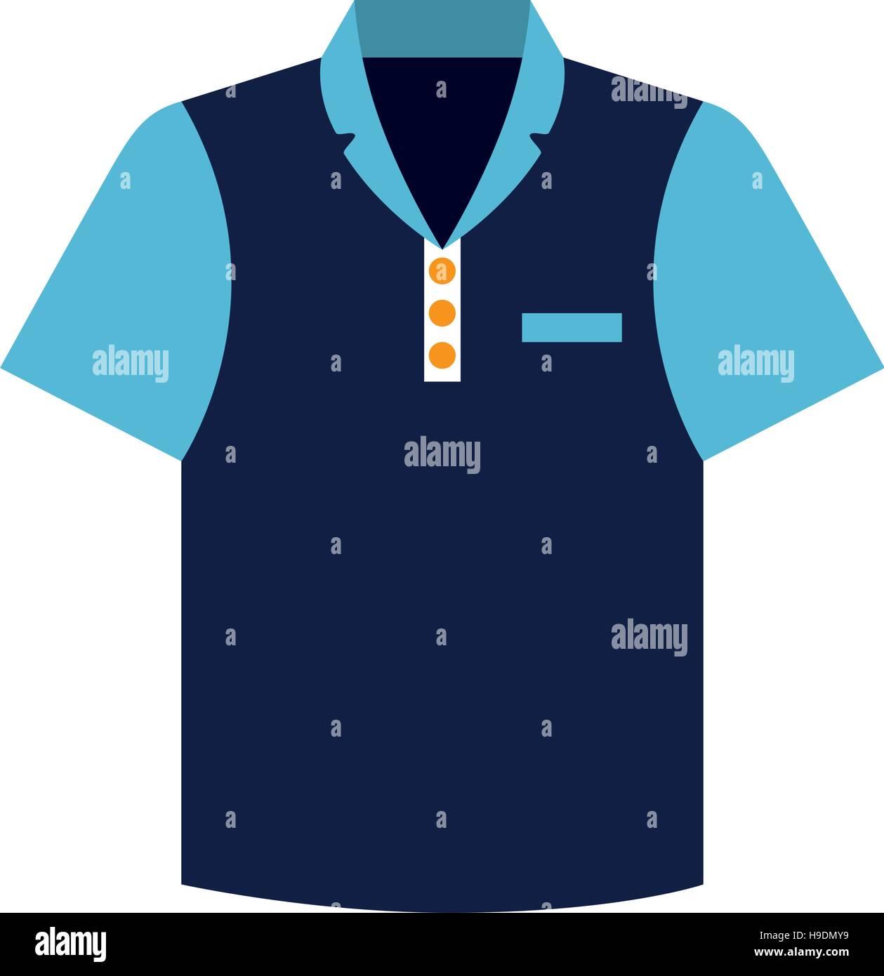 Shirt uniform design vector - Stock Vector Tennis Shirt Uniform Icon Vector Illustration Design
