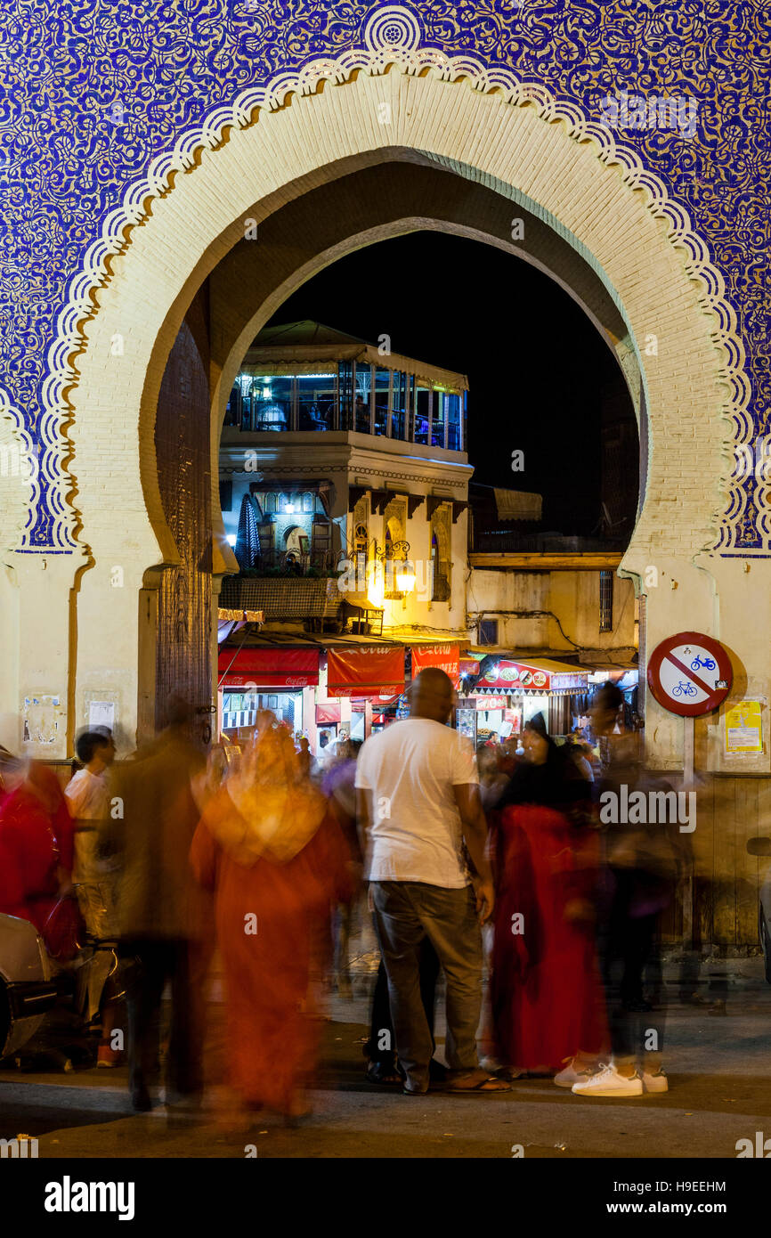 bab boujloud main entrance to the medina fez el bali fez morocco