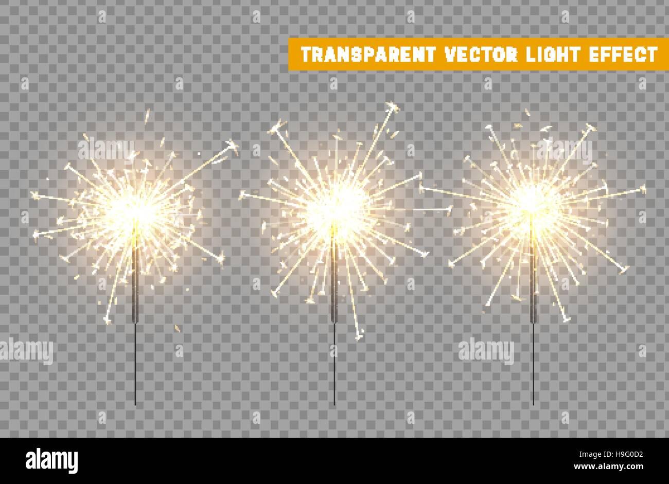 Festive Christmas sparkler decoration lighting element. Sparkler vector firework. Magic light isolated effect. For the background of the holiday and b  sc 1 st  Alamy & Festive Christmas sparkler decoration lighting element. Sparkler ... azcodes.com