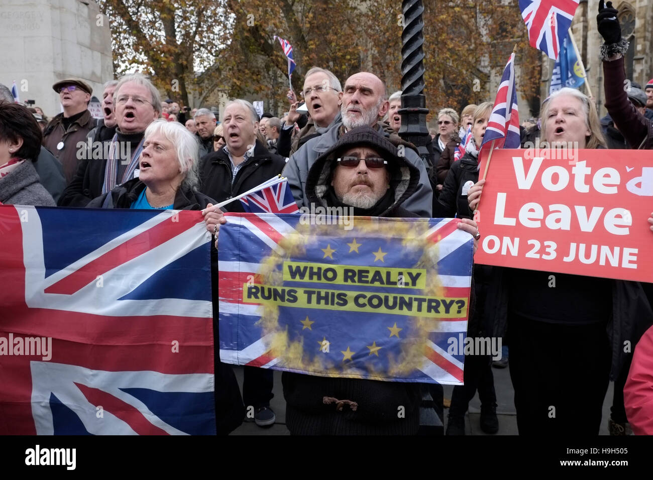Yeah, soft brexit. Unless you're worried about violence from these guys.