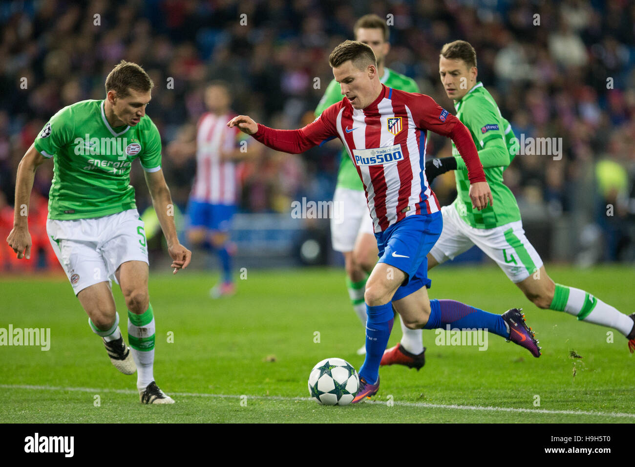 Atletico Madrid´s French forward Kevin Gameiro during the UEFA