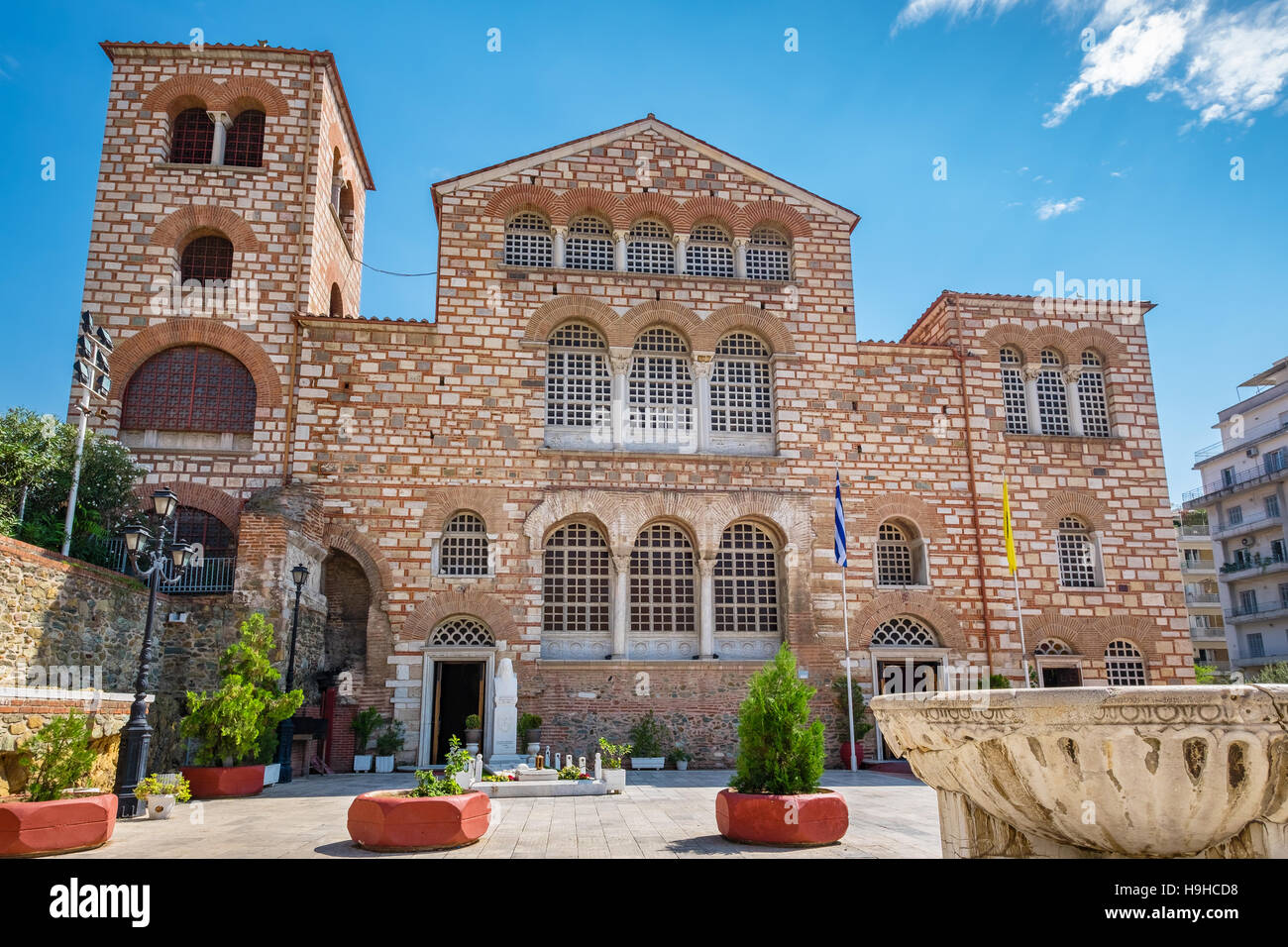 Church of Saint Demetrius. Thessaloniki, Greece Stock ...