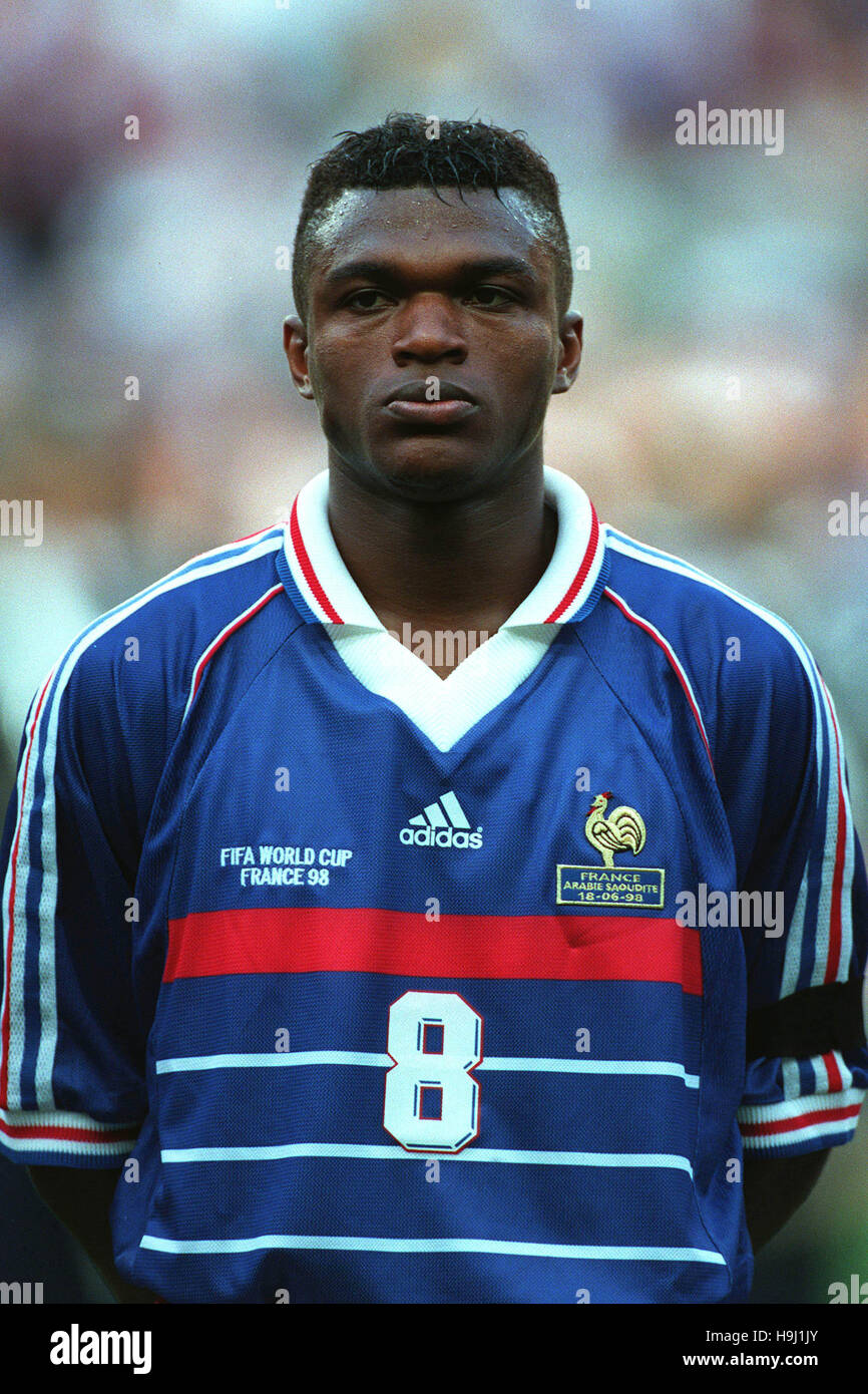 MARCEL DESAILLY FRANCE & AC MILAN 30 June 1998 Stock