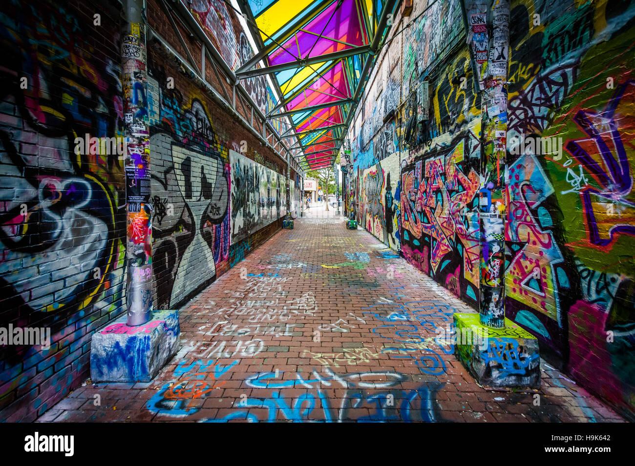 Graffiti wall cambridge ma - Graffiti Alley At Central Square In Cambridge Massachusetts Stock Photo
