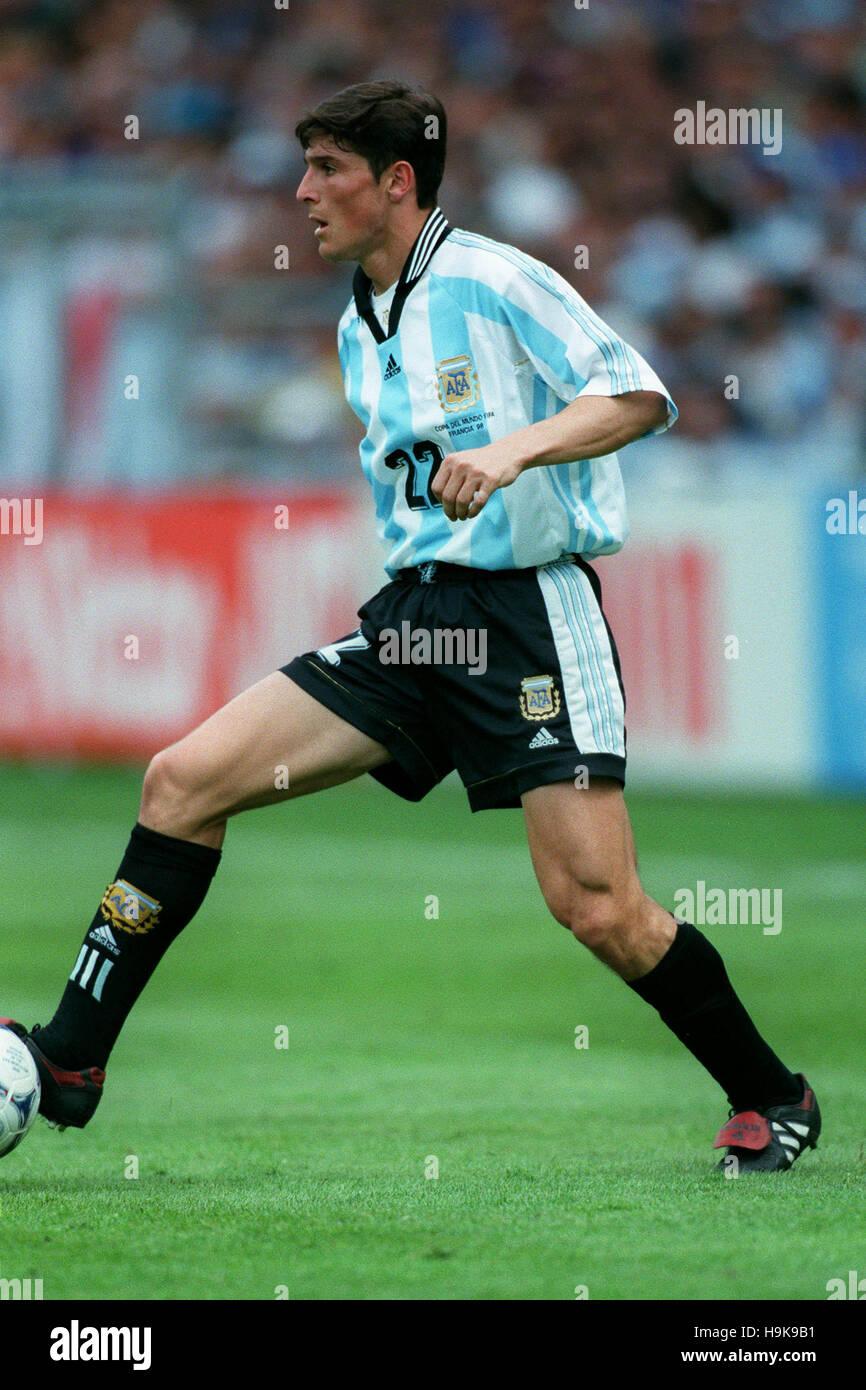 JAVIER ZANETTI ARGENTINA 14 June 1998 Stock Royalty Free