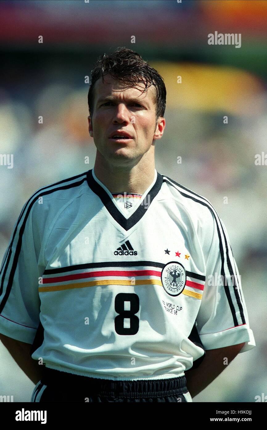 LOTHAR MATTHAUS GERMANY 29 June 1998 Stock Royalty Free