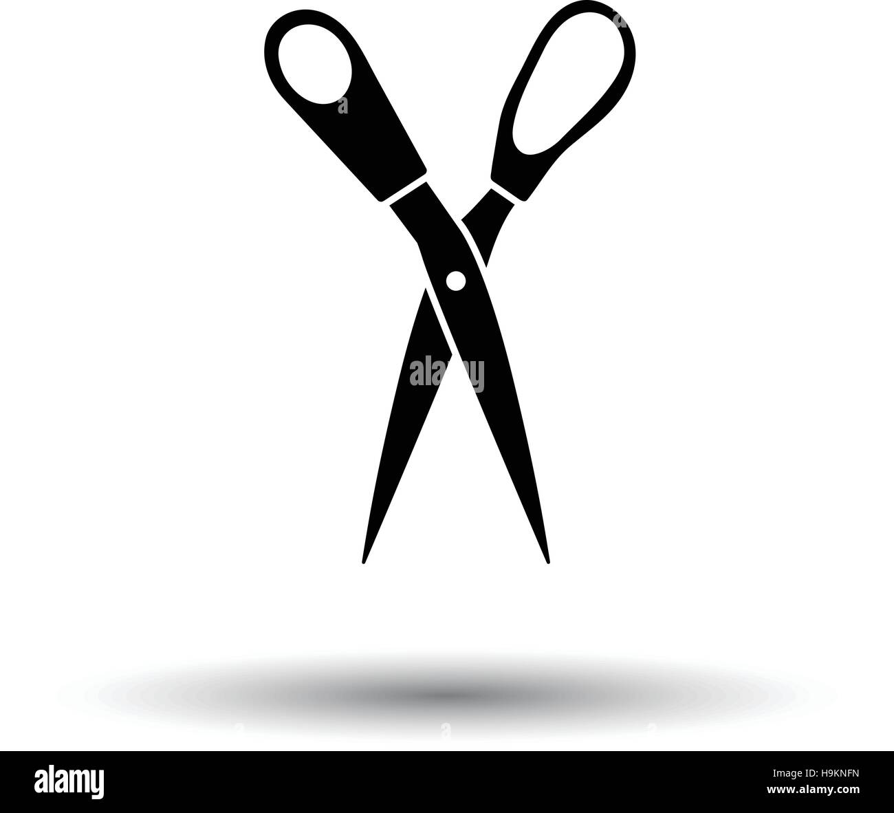 Tailor scissor icon white background with shadow design vector tailor scissor icon white background with shadow design vector illustration biocorpaavc
