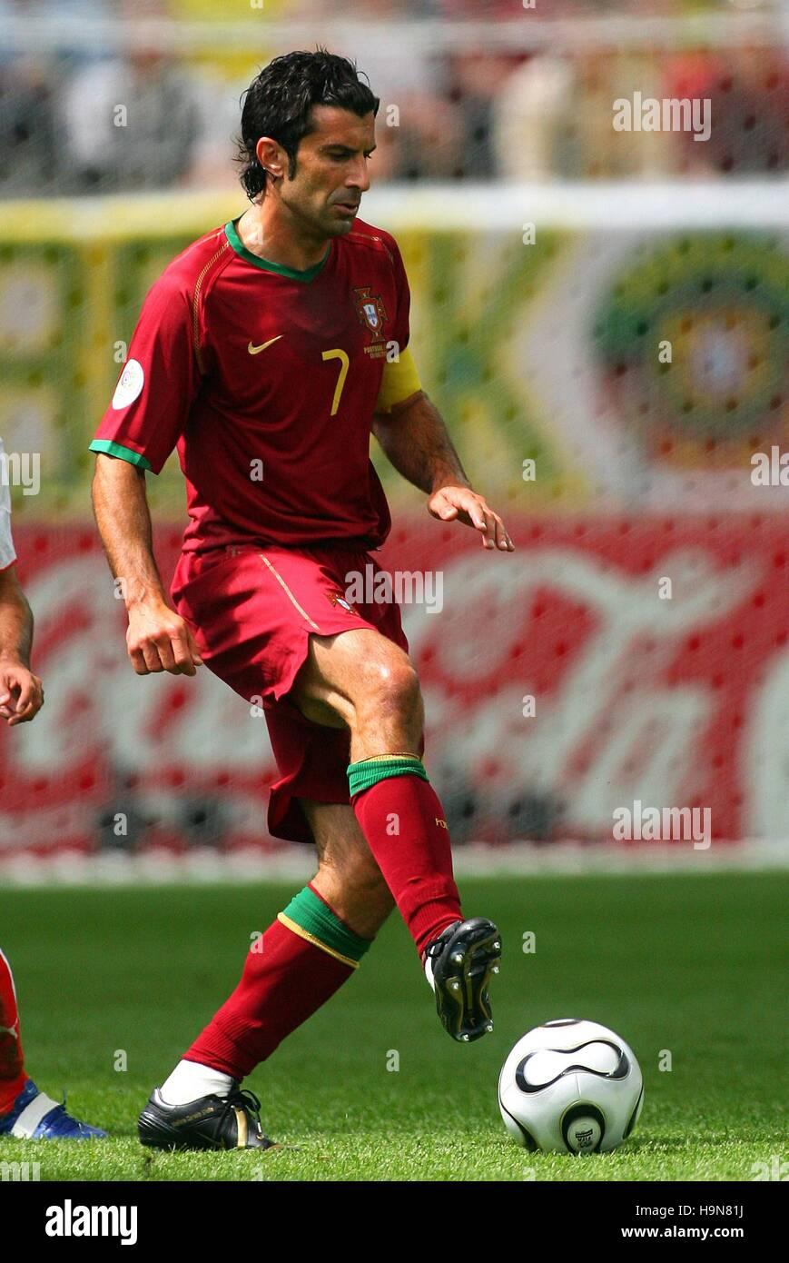 LUIS FIGO PORTUGAL & INTER MILAN WORLD CUP FRANKFURT GERMANY 17