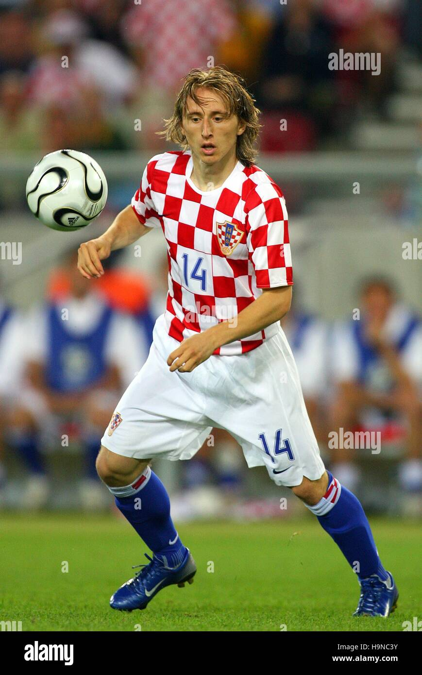 LUKA MODRIC CROATIA & DINAMO ZAGREB WORLD CUP STUTTGART GERMANY 22