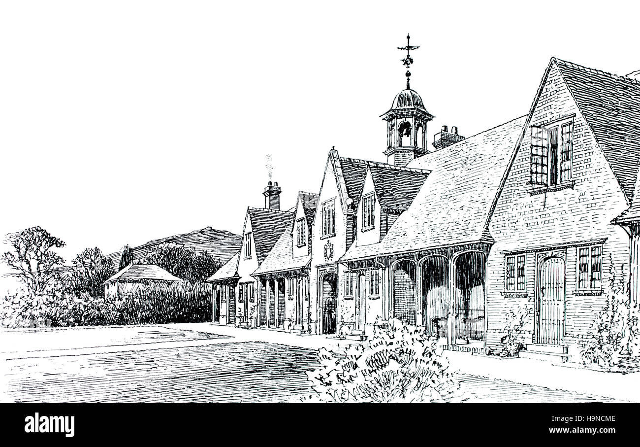 Cottage Homes Churchill Somerset Wesleyan Almshouses By