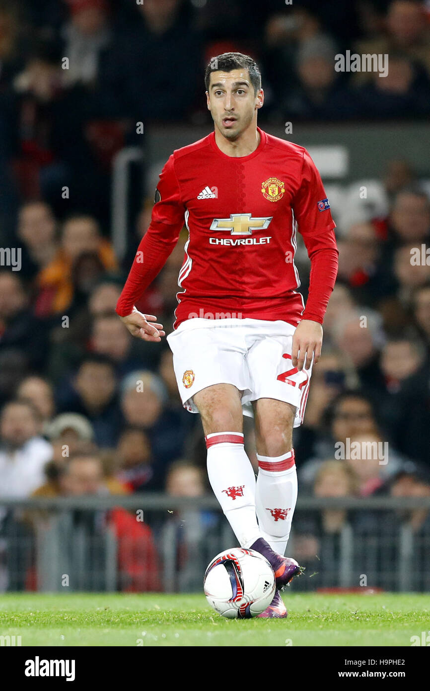 Manchester United s Henrikh Mkhitaryan during the UEFA Europa