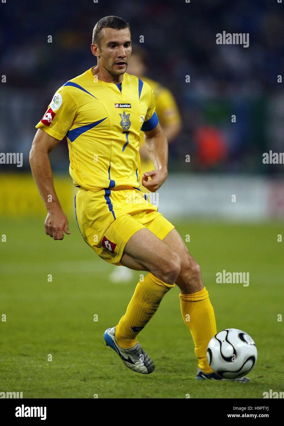 ANDRIY SHEVCHENKO UKRAINE & CHELSEA FC WORLD CUP AOL ARENA HAMBURG