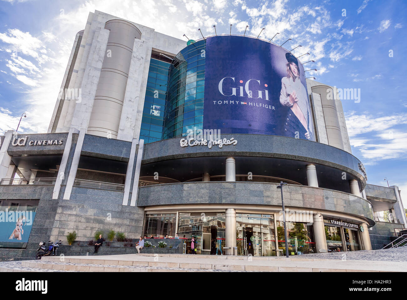 Lisbon portugal october 19 2016 el corte ingles a high end lisbon portugal october 19 2016 el corte ingles a high end shopping mall of a global retail company near the eduardo vii park sciox Gallery