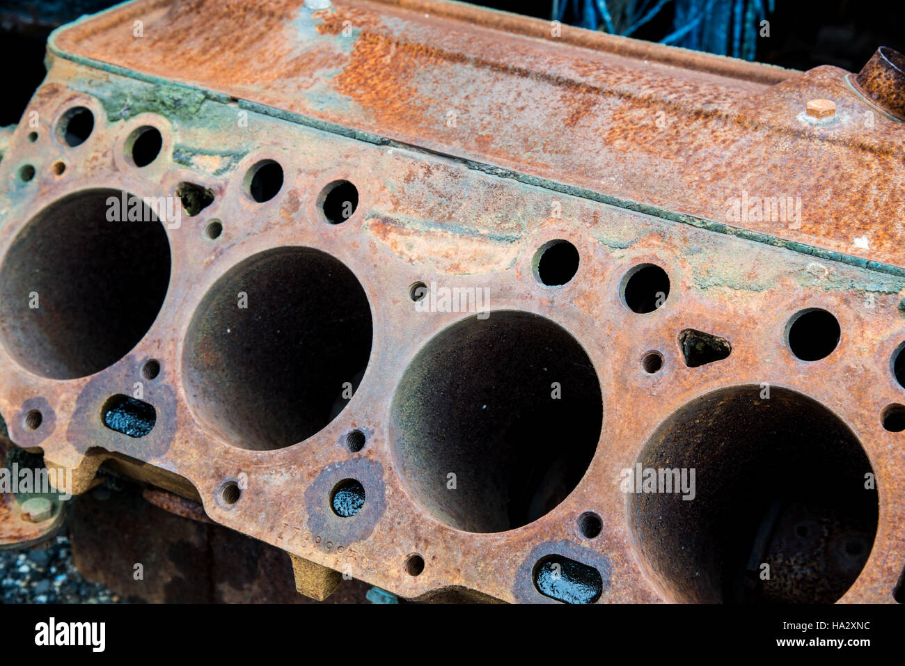 Rusted Vintage Car Parts Stock Photo, Royalty Free Image: 126684024 ...