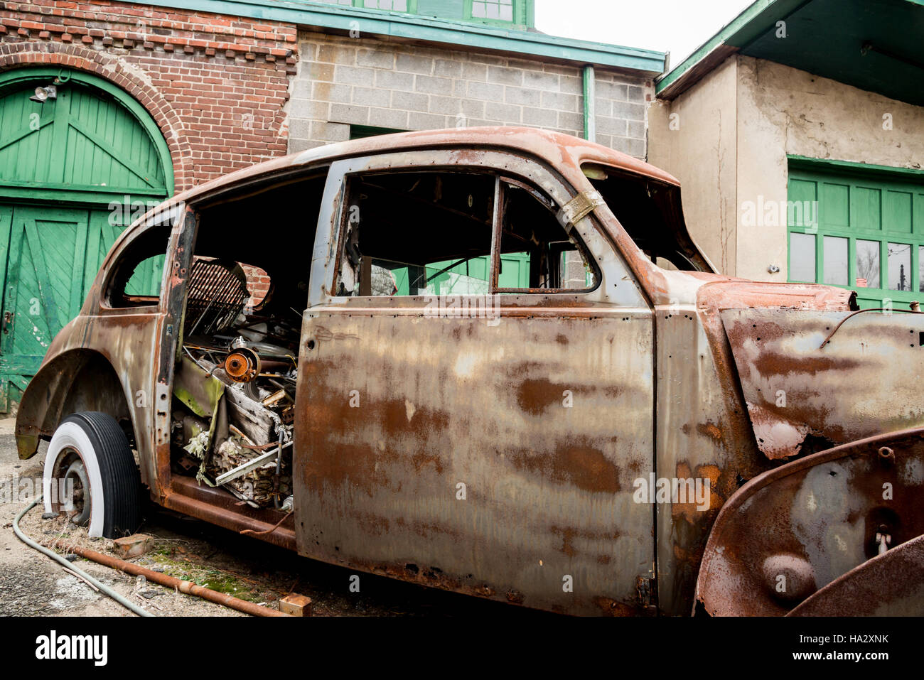 Rusted Vintage Car Parts Stock Photo, Royalty Free Image ...