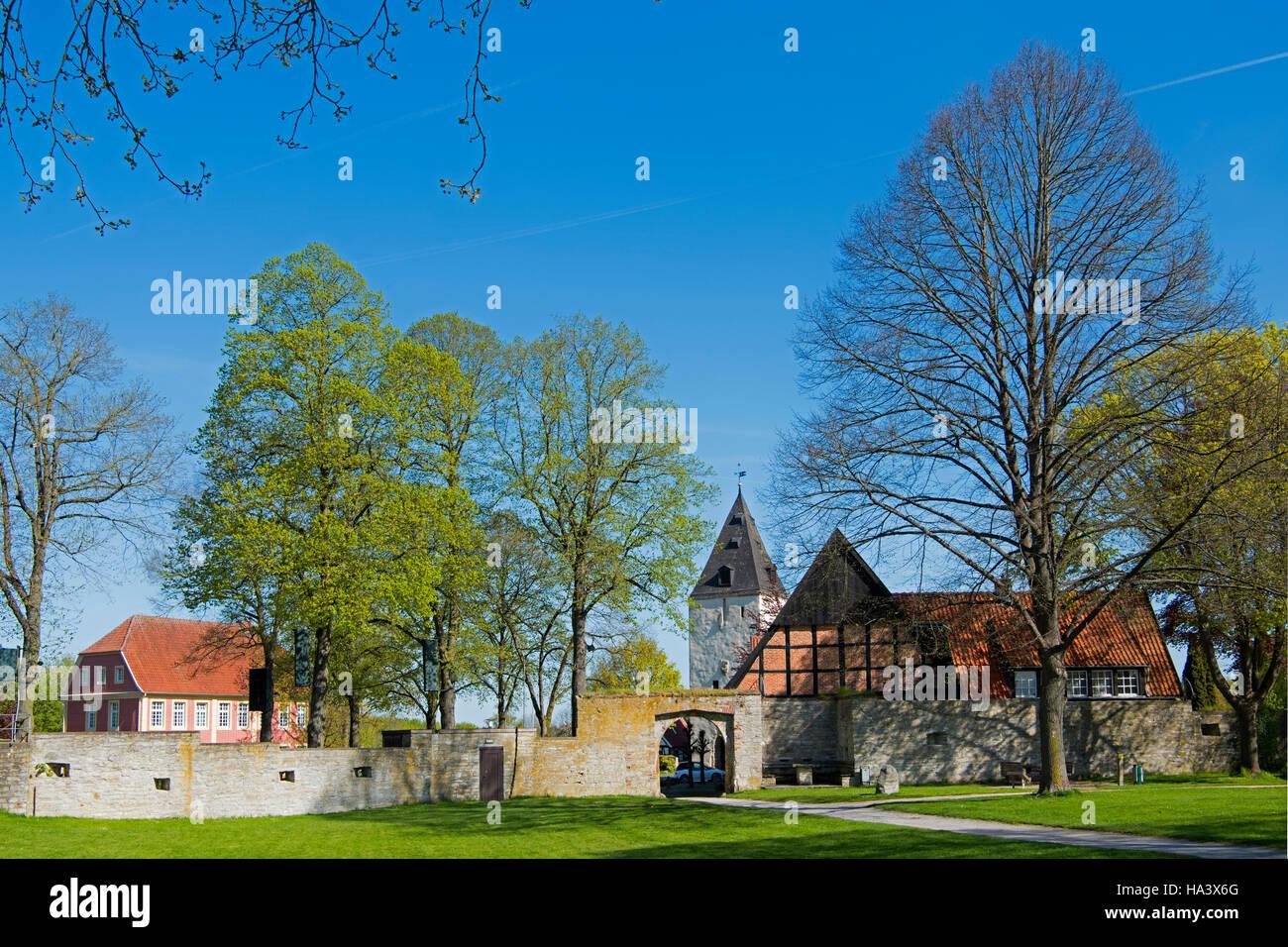 deutschland nordrhein westfalen kreis warendorf stromberg burg stock photo royalty free. Black Bedroom Furniture Sets. Home Design Ideas