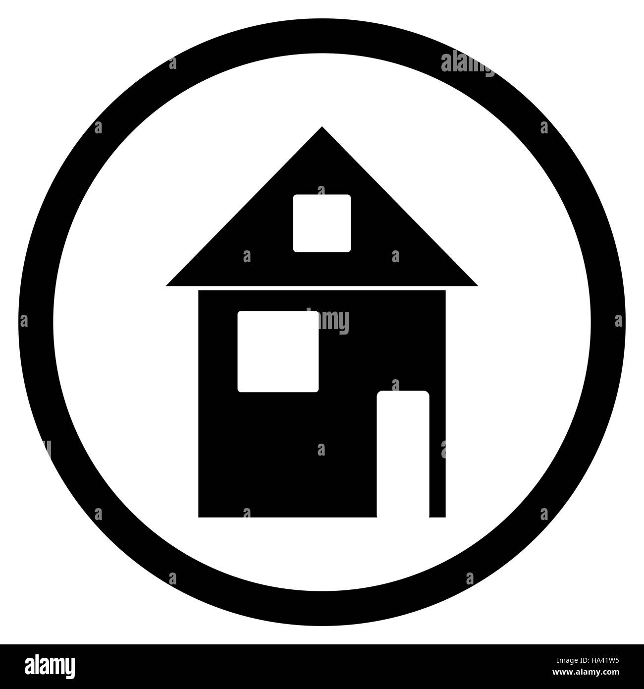 Home House Black White Icon House Icon And Home Logo