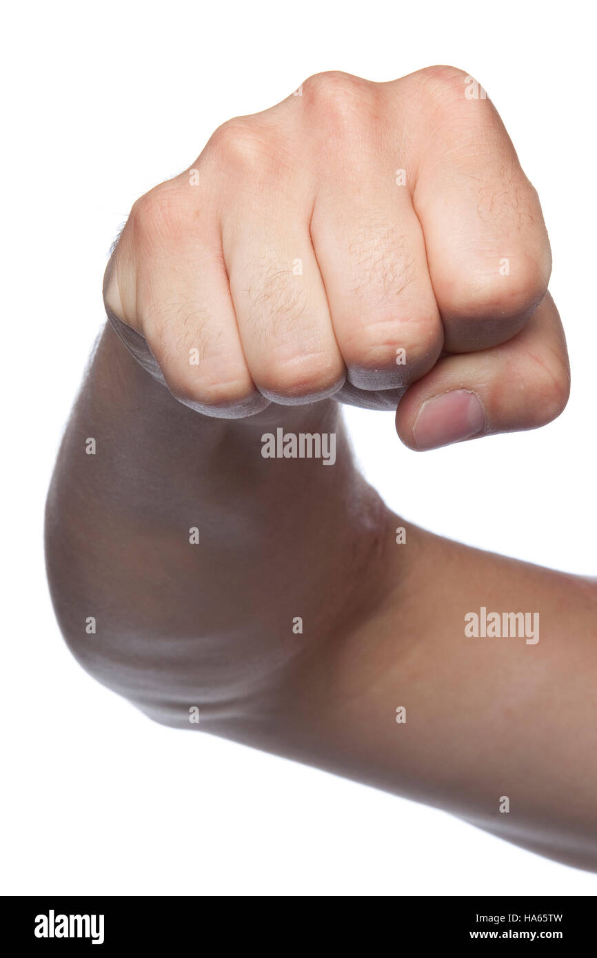 Fist symbol of violence a hand isolated on a white background stock fist symbol of violence a hand isolated on a white background buycottarizona Choice Image