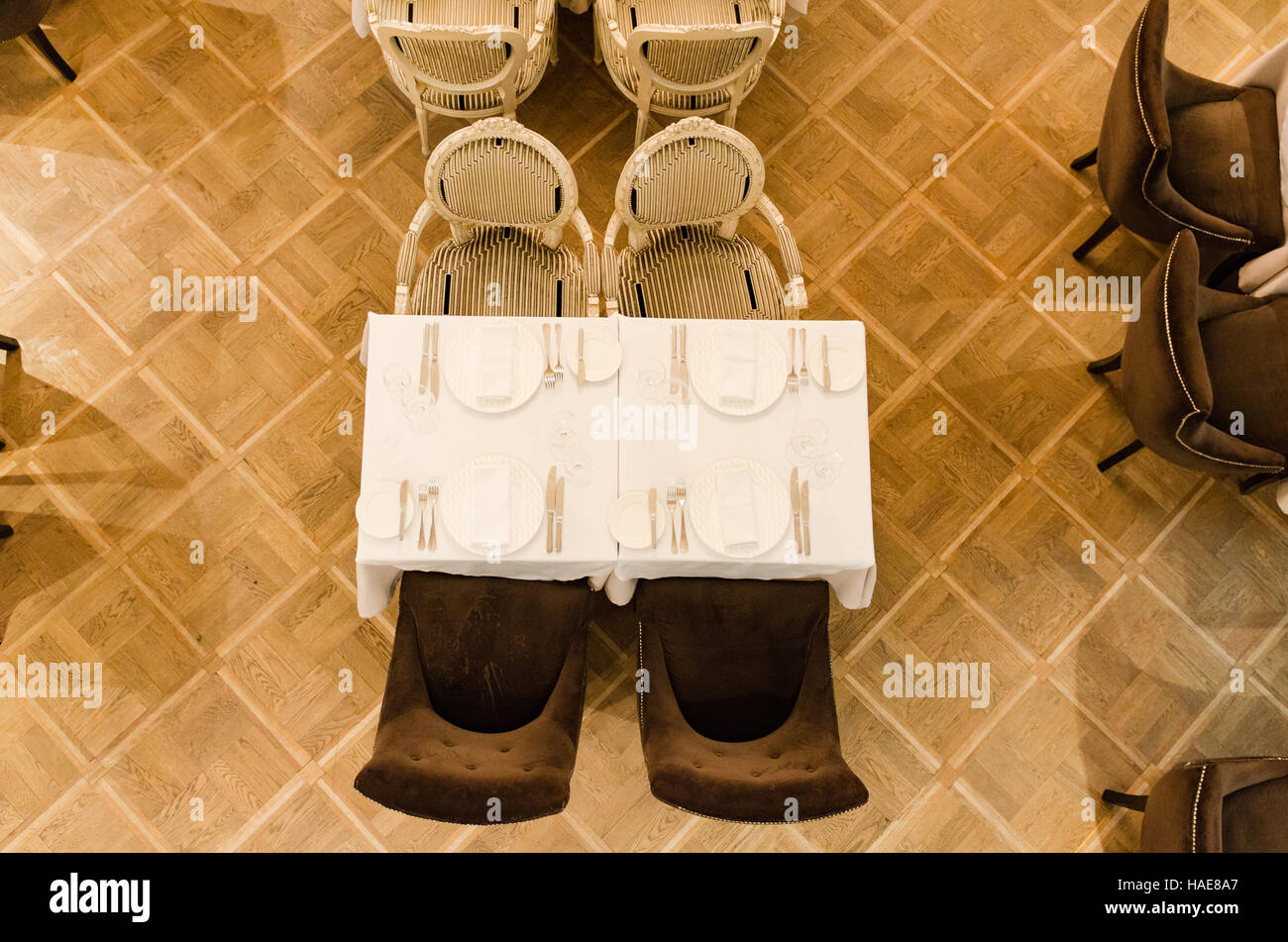 restaurant interior shot stock photo, royalty free image