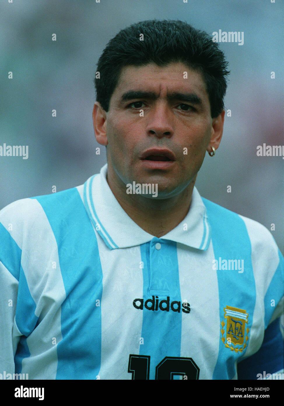 DIEGO MARADONA ARGENTINA 02 July 1994 Stock Royalty Free