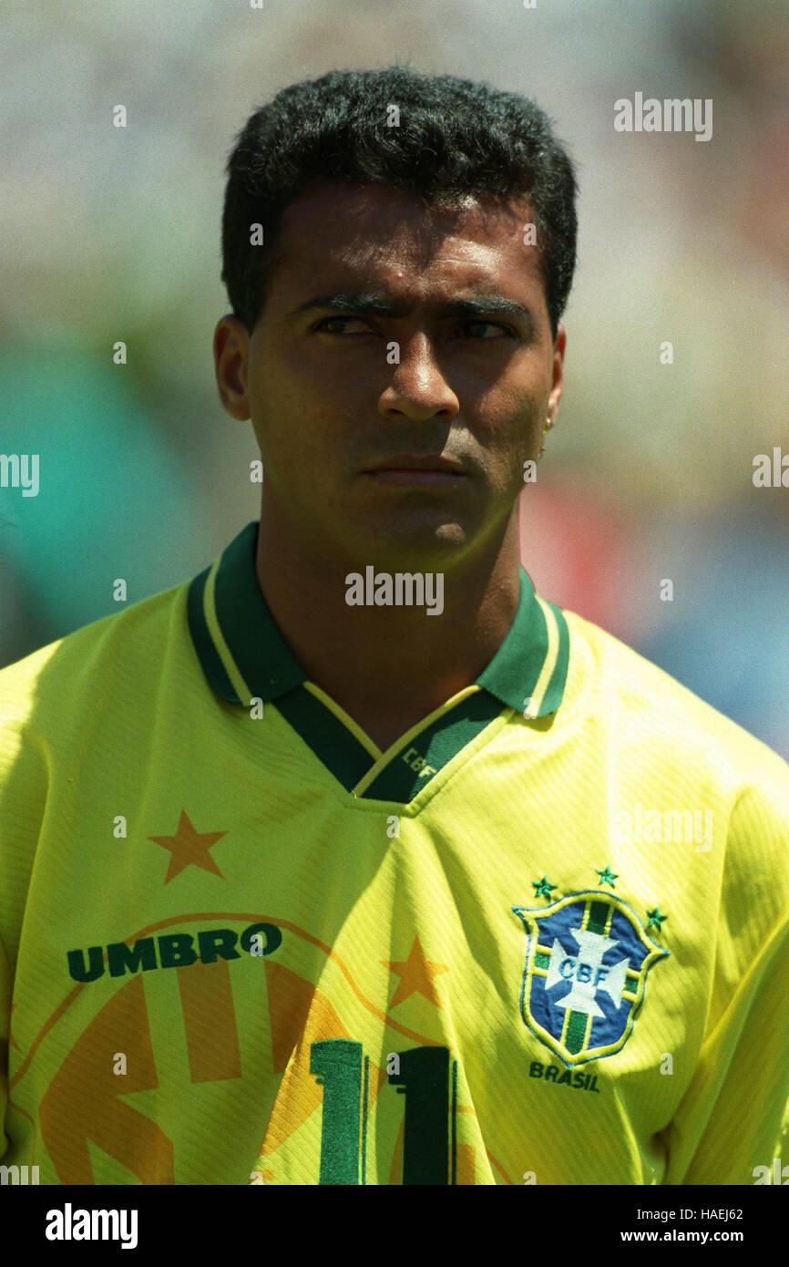ROMARIO BRAZIL & BARCELONA 11 July 1994 Stock Royalty Free