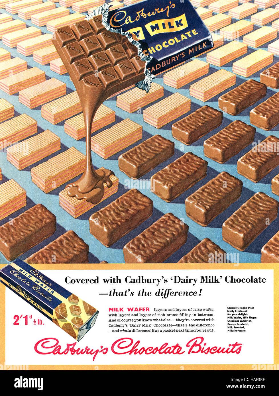 Magazine Advert Chocolate Stock Photos & Magazine Advert Chocolate ...