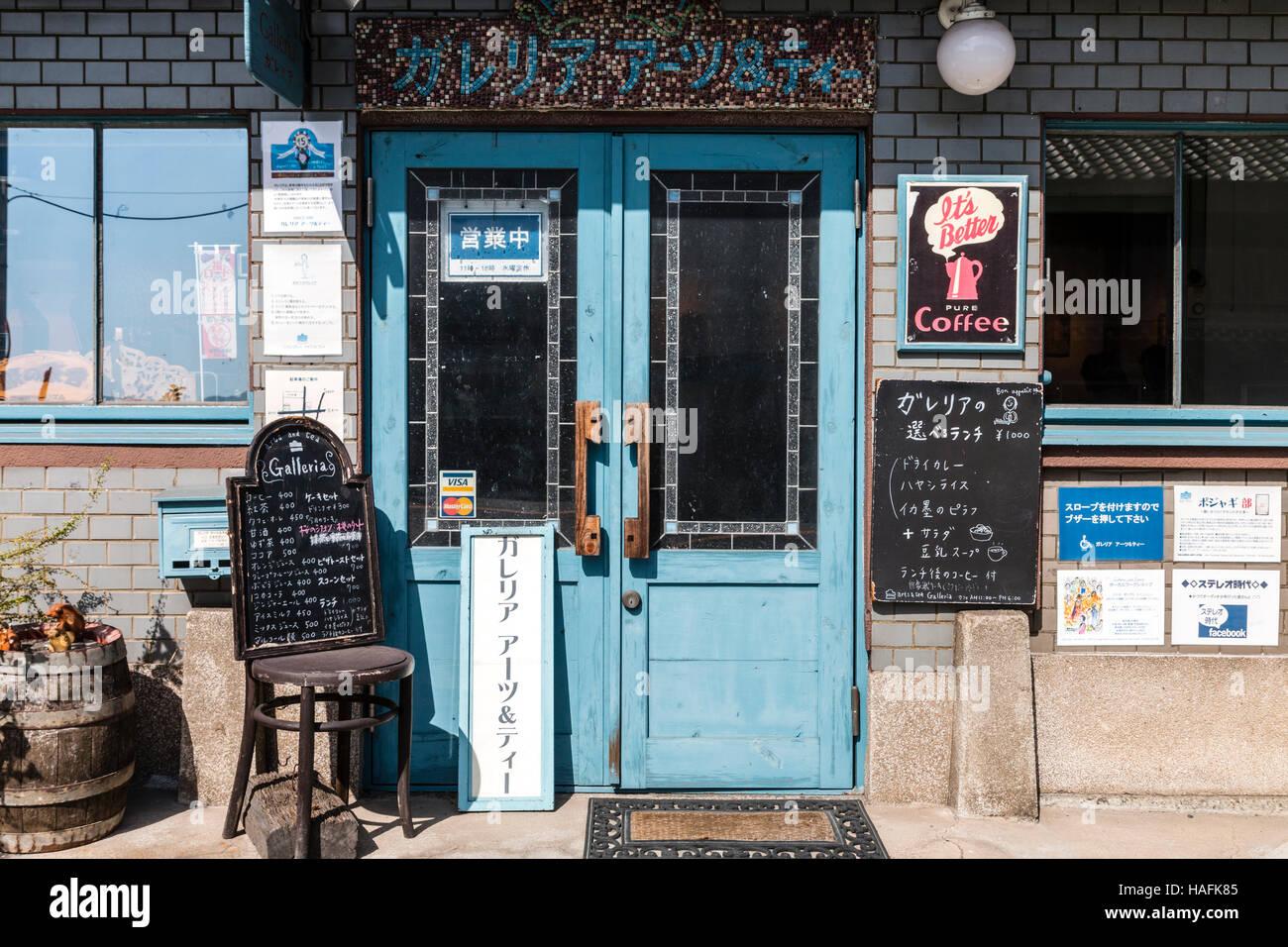 Blue Door Cafe Menu